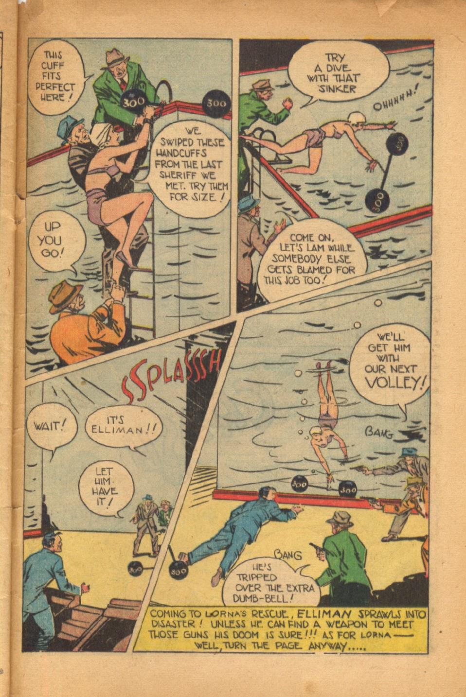Read online Super-Magician Comics comic -  Issue #54 - 46