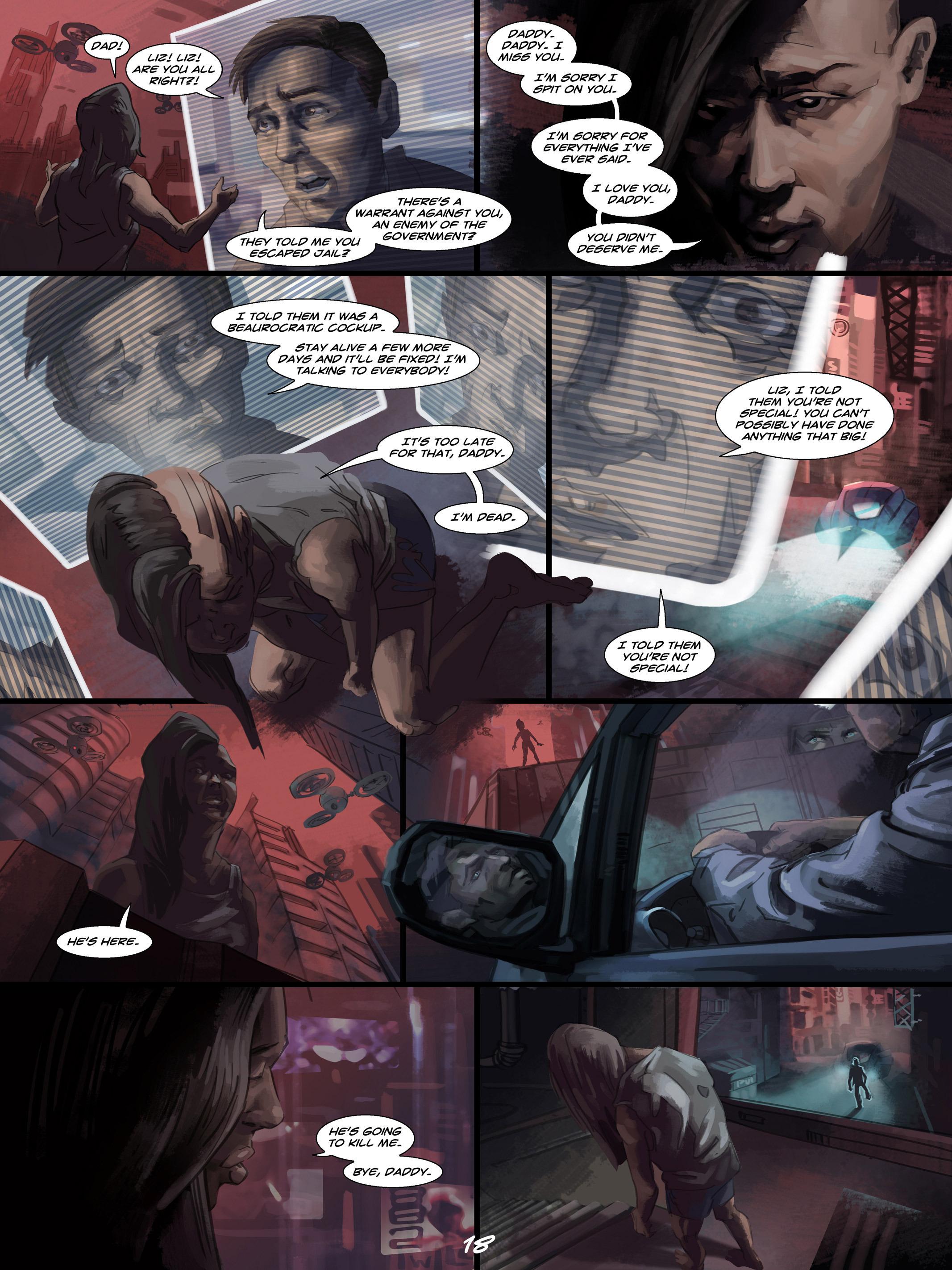 Read online Wynter comic -  Issue #4 - 19