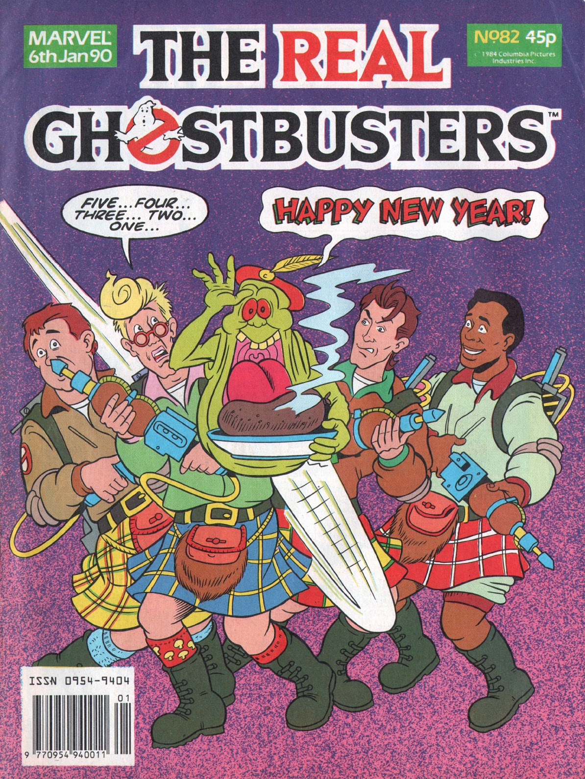 The Real Ghostbusters 82 Page 1
