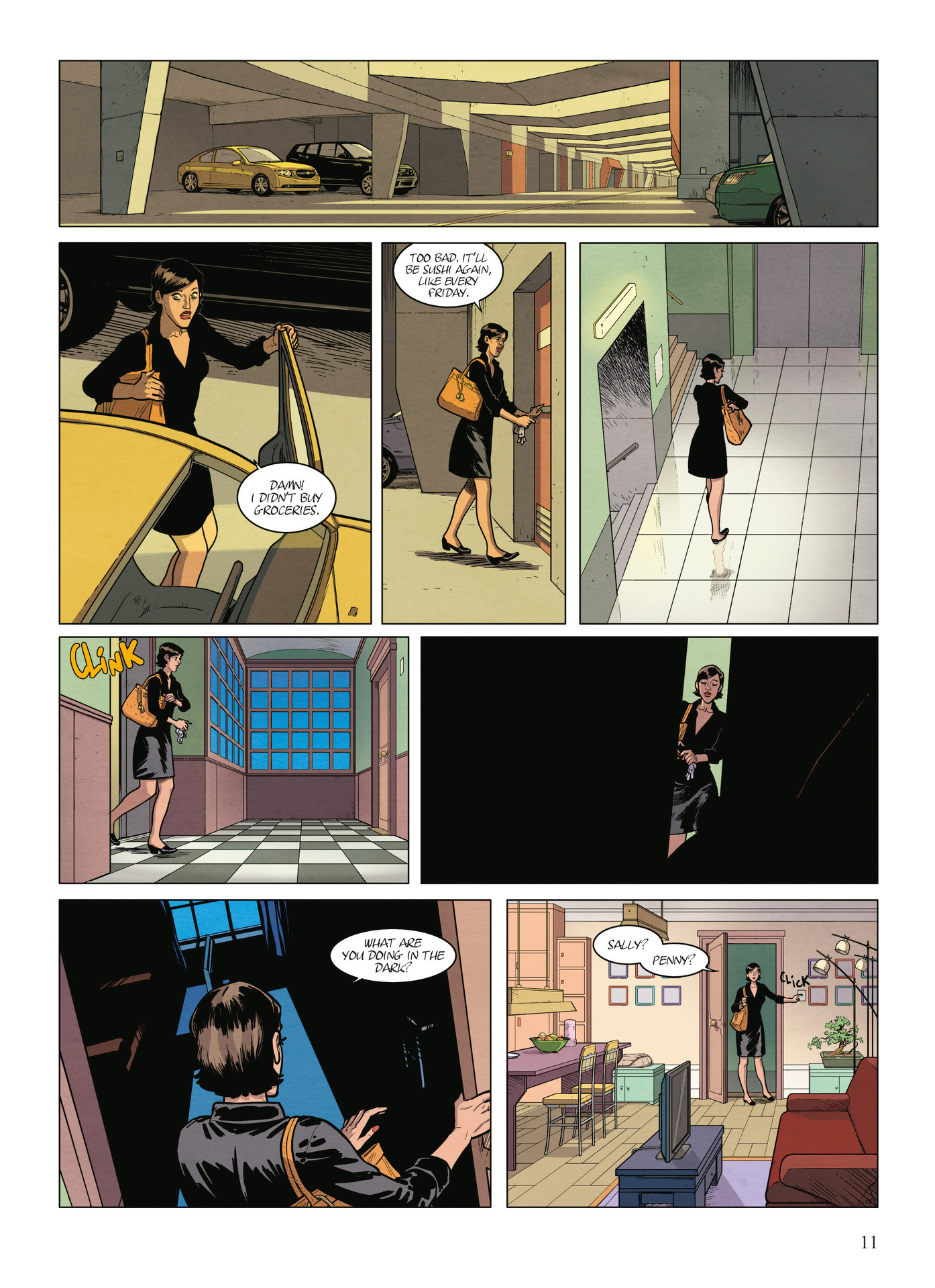 Read online Alter Ego comic -  Issue #9 - 13