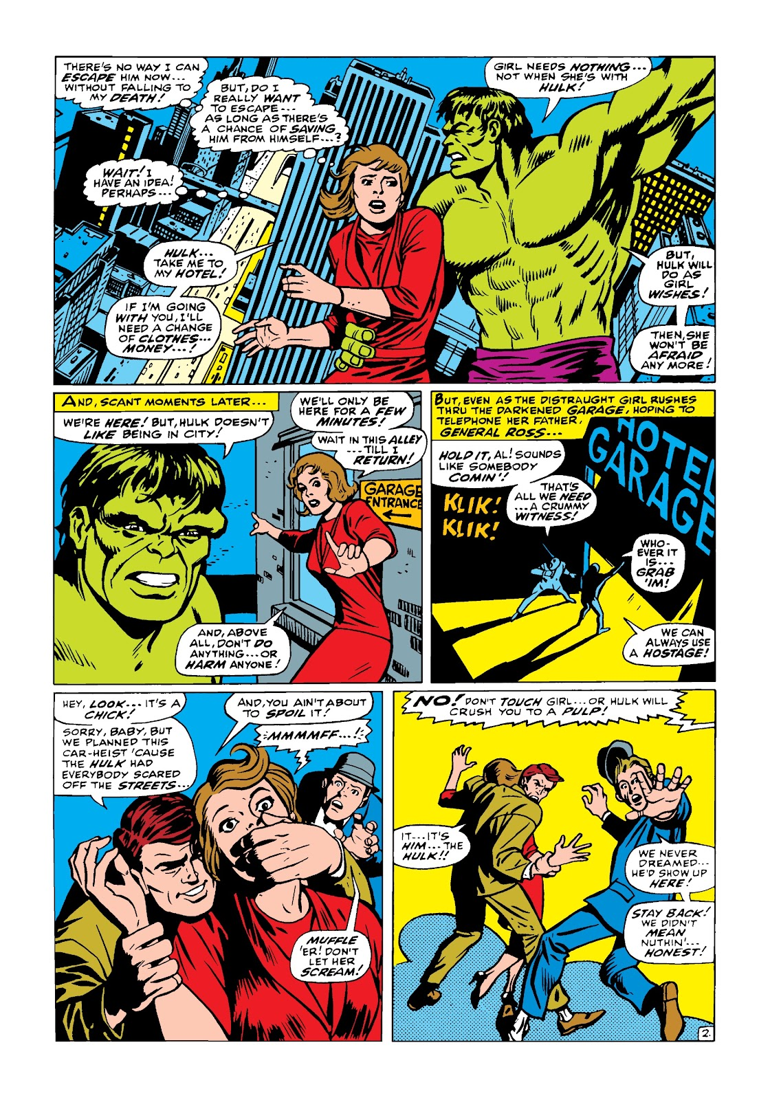 Read online Marvel Masterworks: The Incredible Hulk comic -  Issue # TPB 4 (Part 1) - 51