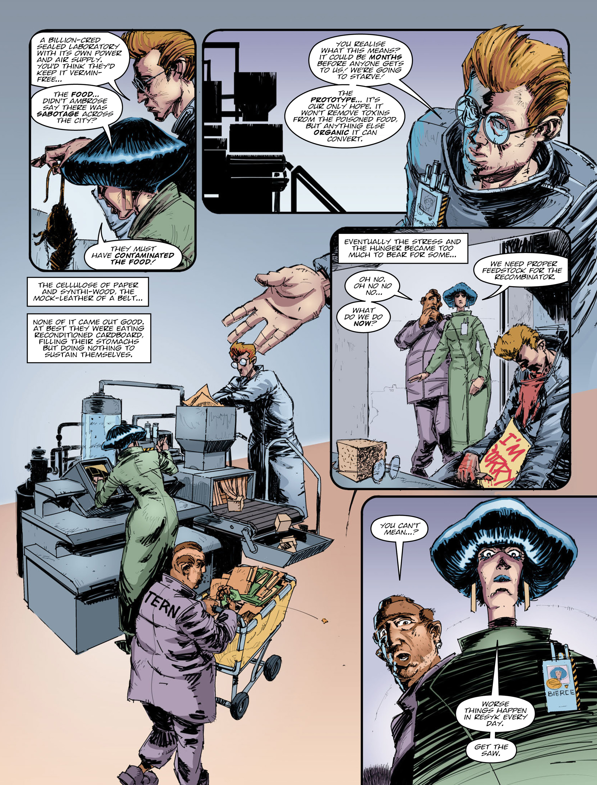 Read online 2000 AD comic -  Issue #2008 - 4