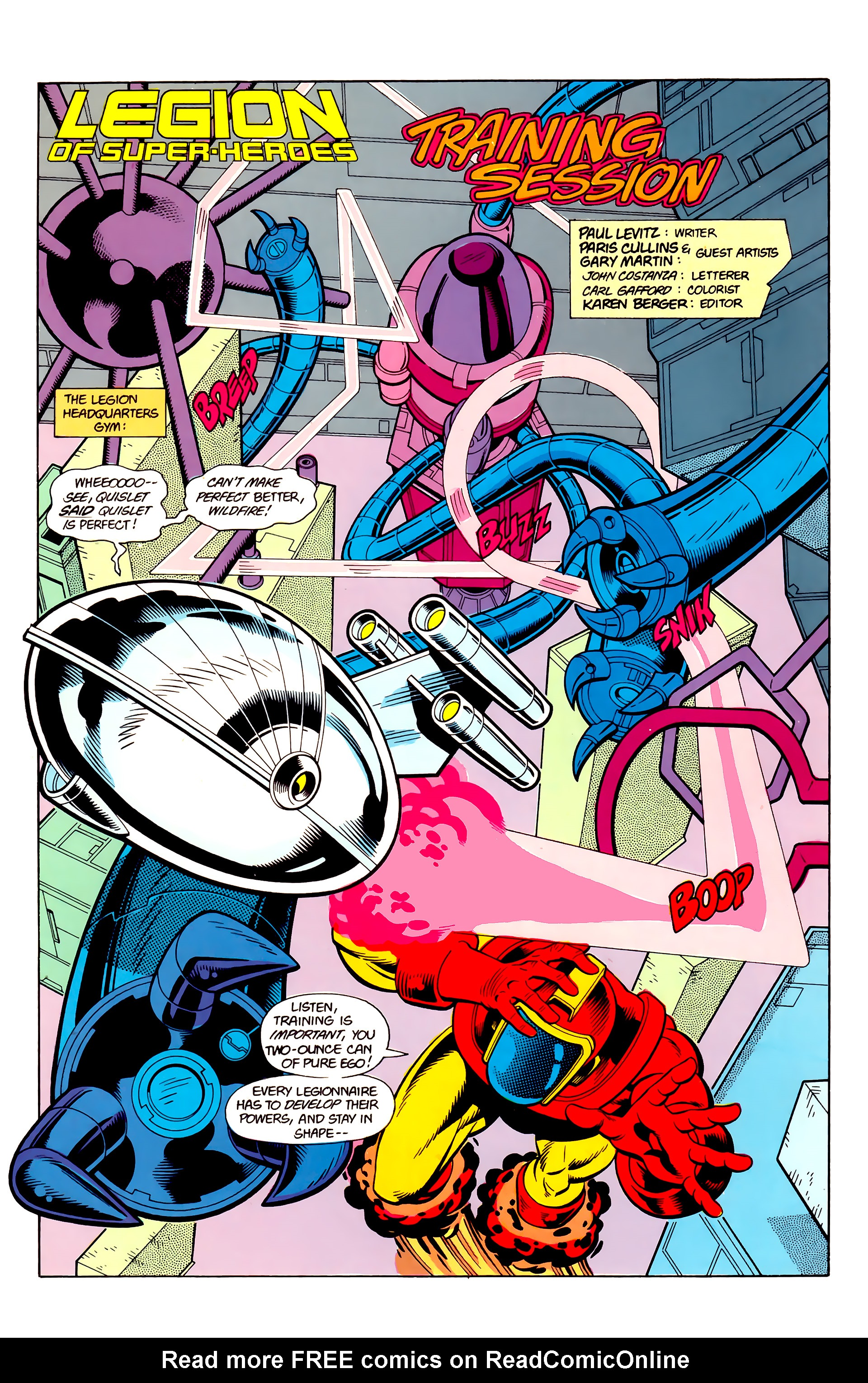 Legion of Super-Heroes (1984) 21 Page 27
