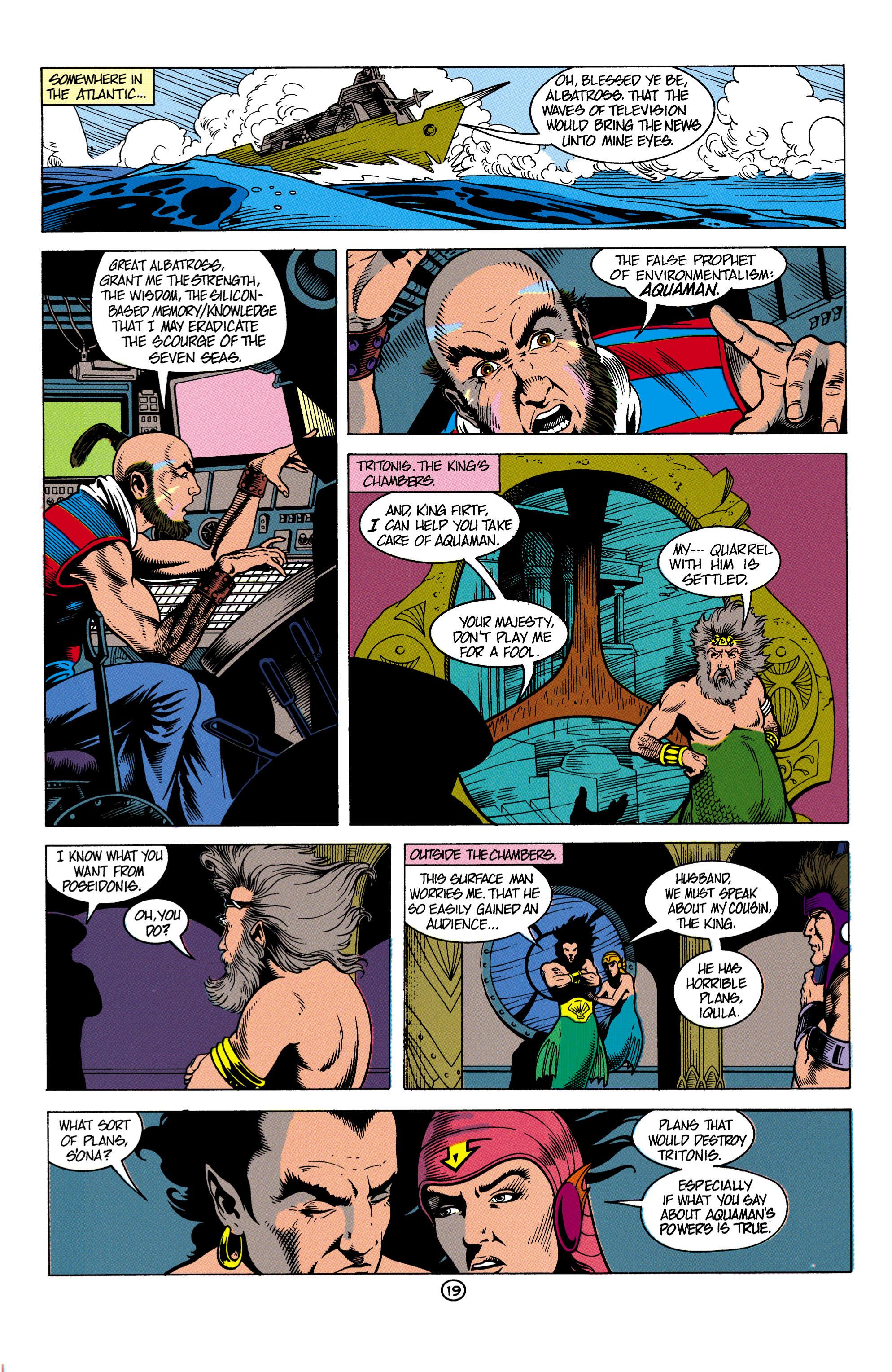 Read online Aquaman (1991) comic -  Issue #4 - 20