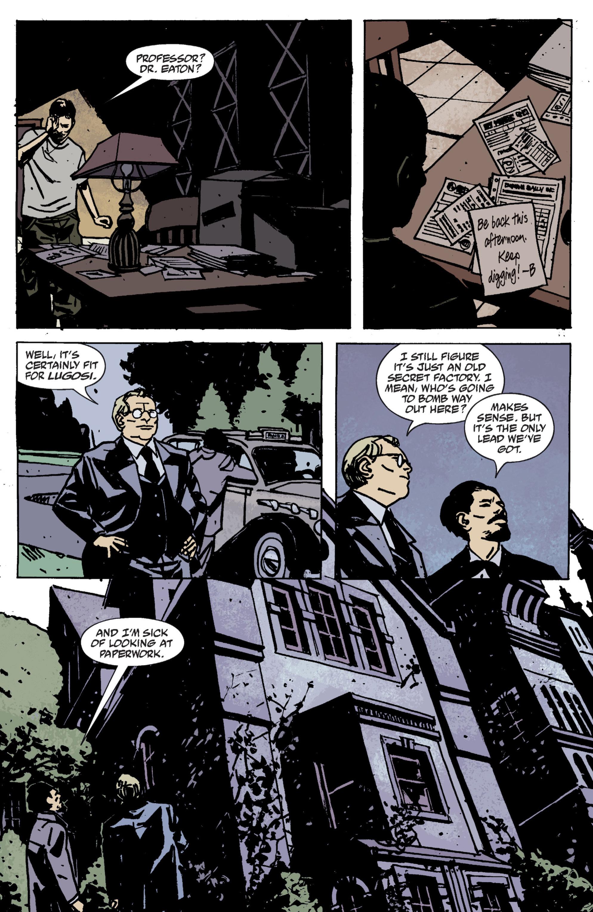 Read online B.P.R.D. (2003) comic -  Issue # TPB 9 - 27