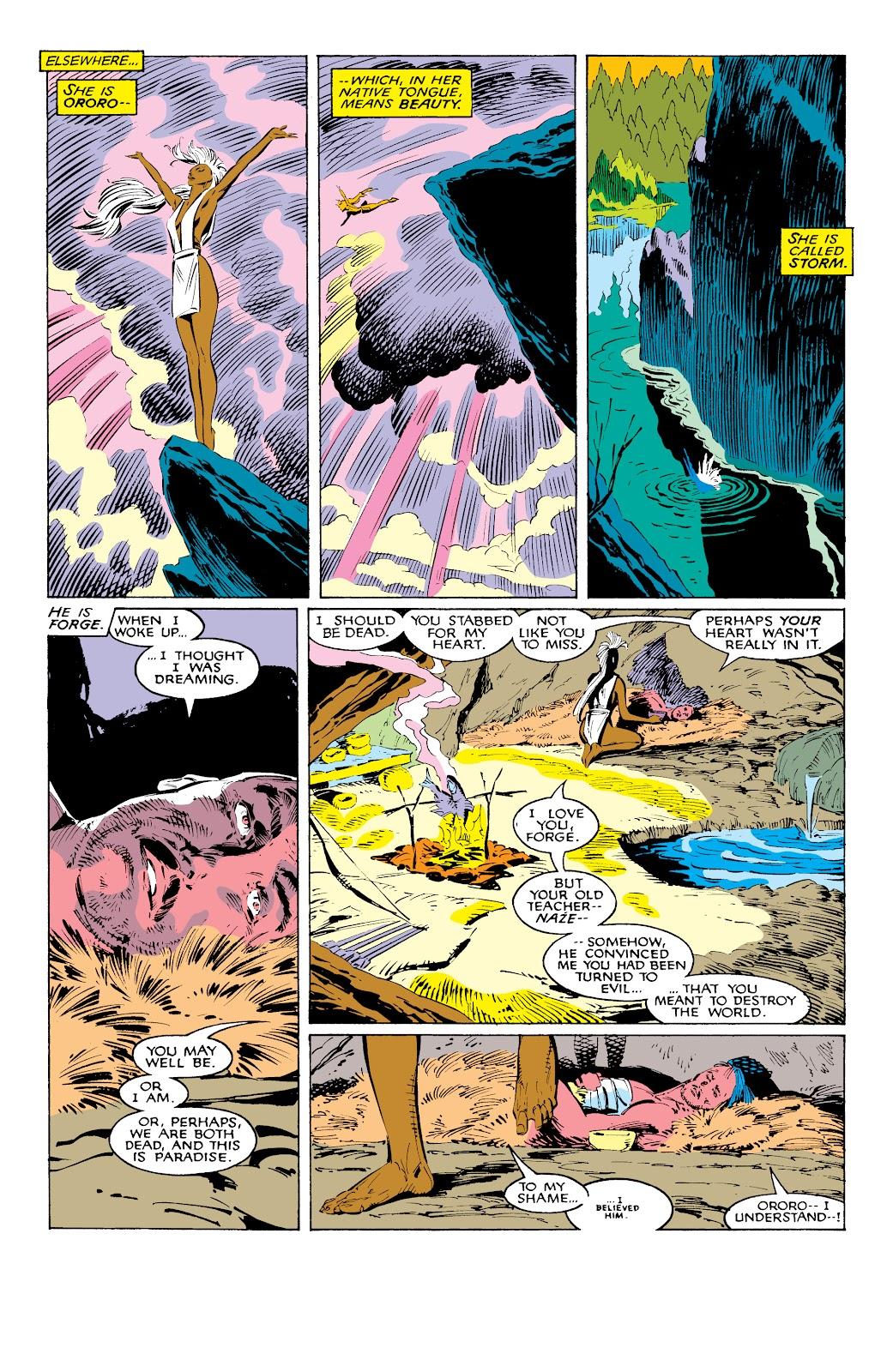 Read online X-Men Milestones: Fall of the Mutants comic -  Issue # TPB (Part 1) - 35