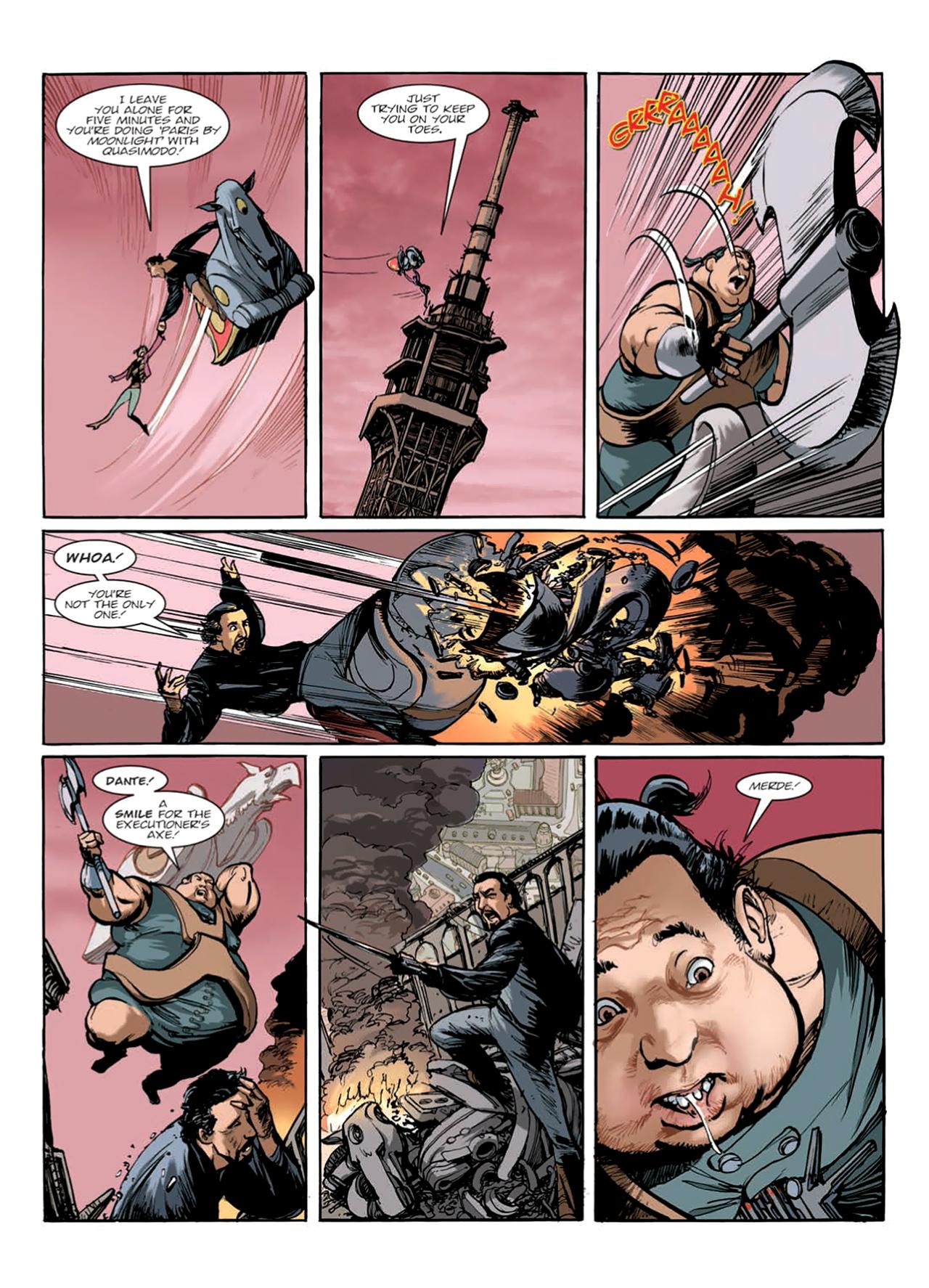 Read online Nikolai Dante comic -  Issue # TPB 9 - 143