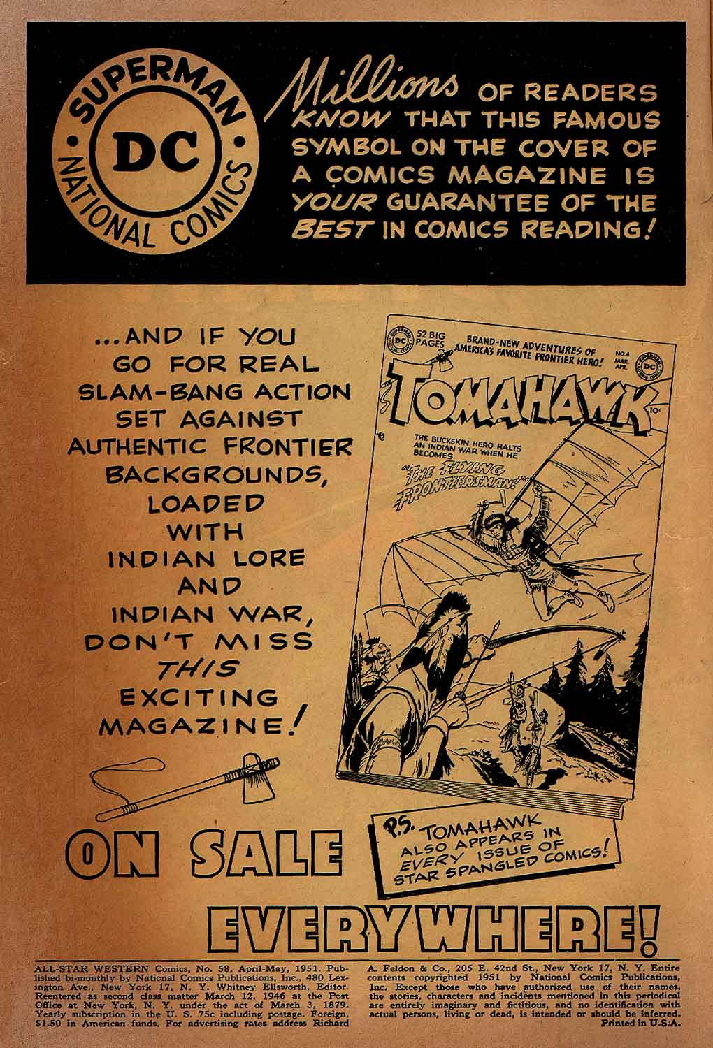 Read online All-Star Western (1951) comic -  Issue #58 - 2