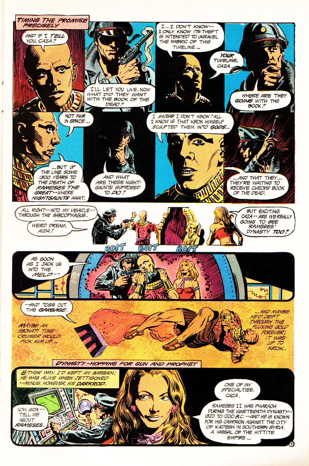 Read online Aztec Ace comic -  Issue #4 - 10