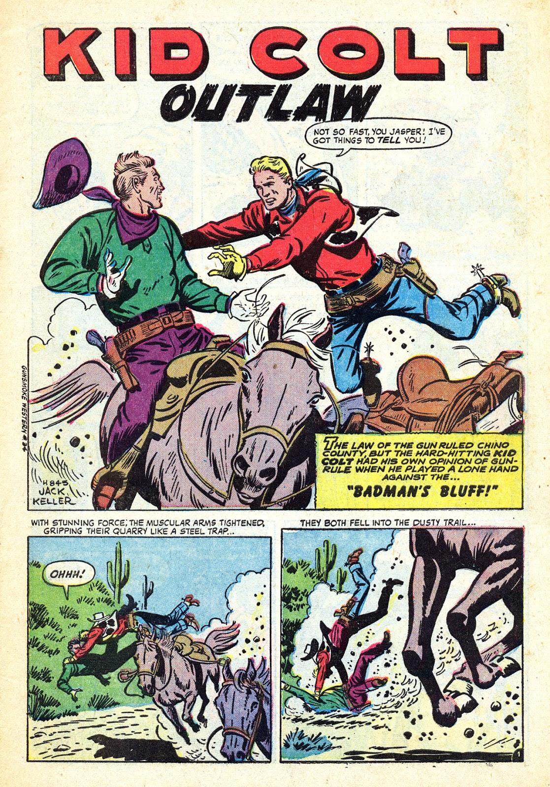 Gunsmoke Western issue 34 - Page 3