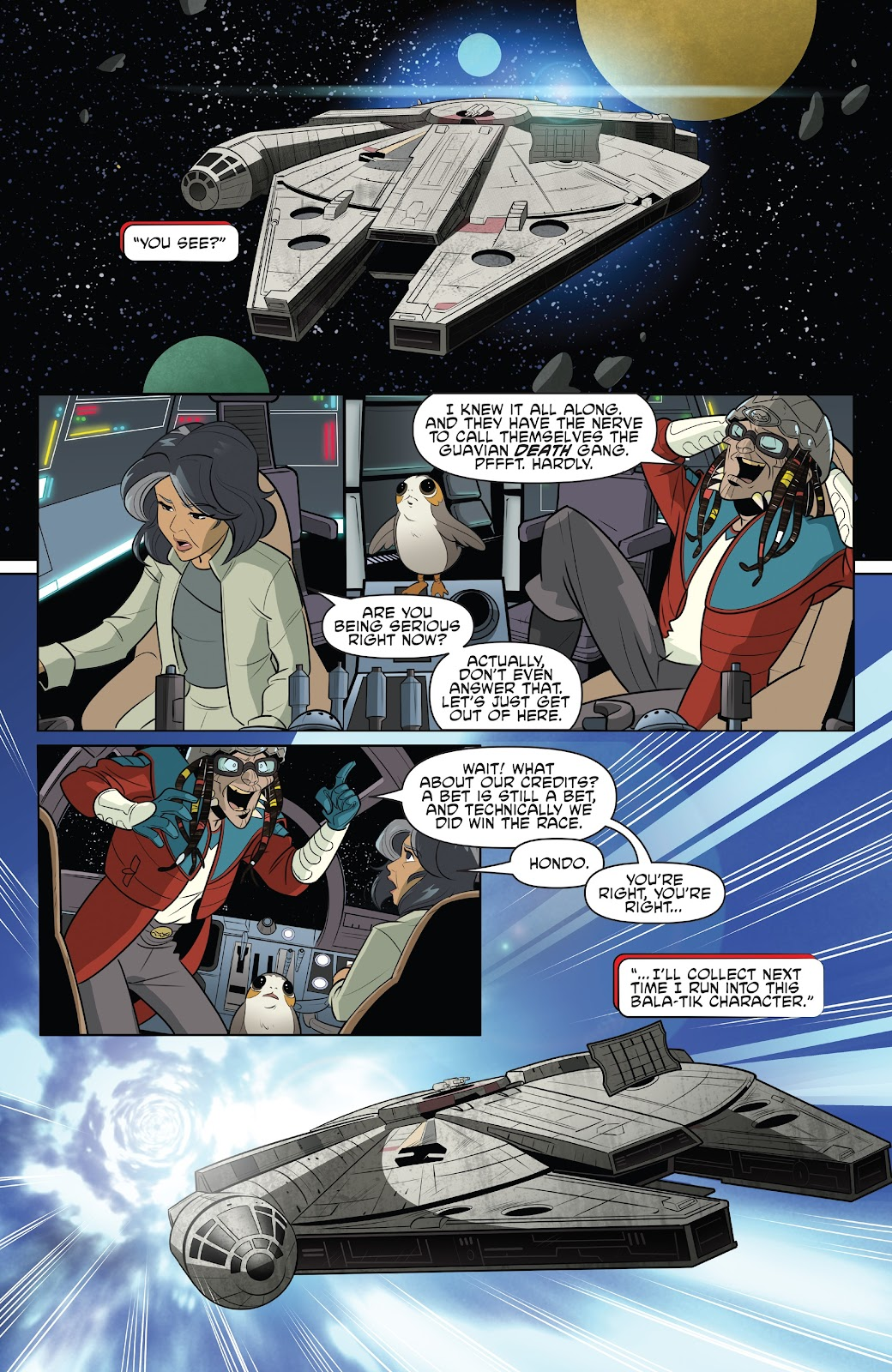 Read online Star Wars Adventures: Flight of the Falcon comic -  Issue # Full - 22