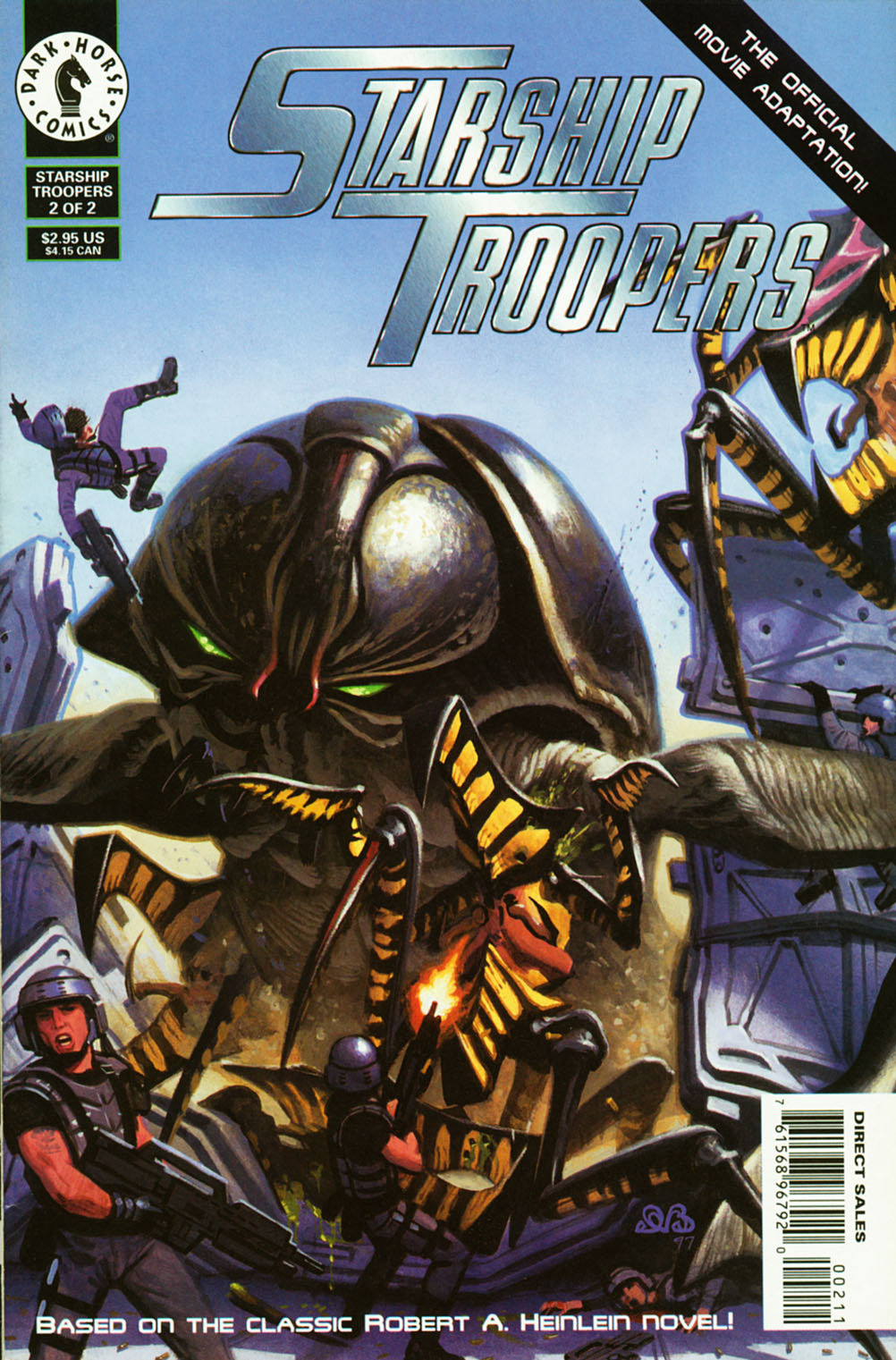 Read online Starship Troopers comic -  Issue #2 - 1
