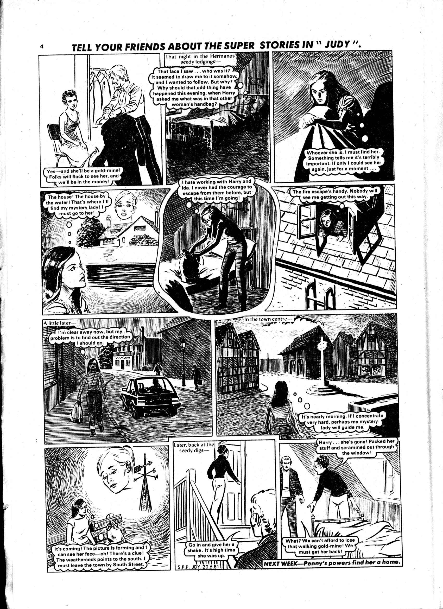 Read online Judy comic -  Issue #1119 - 4