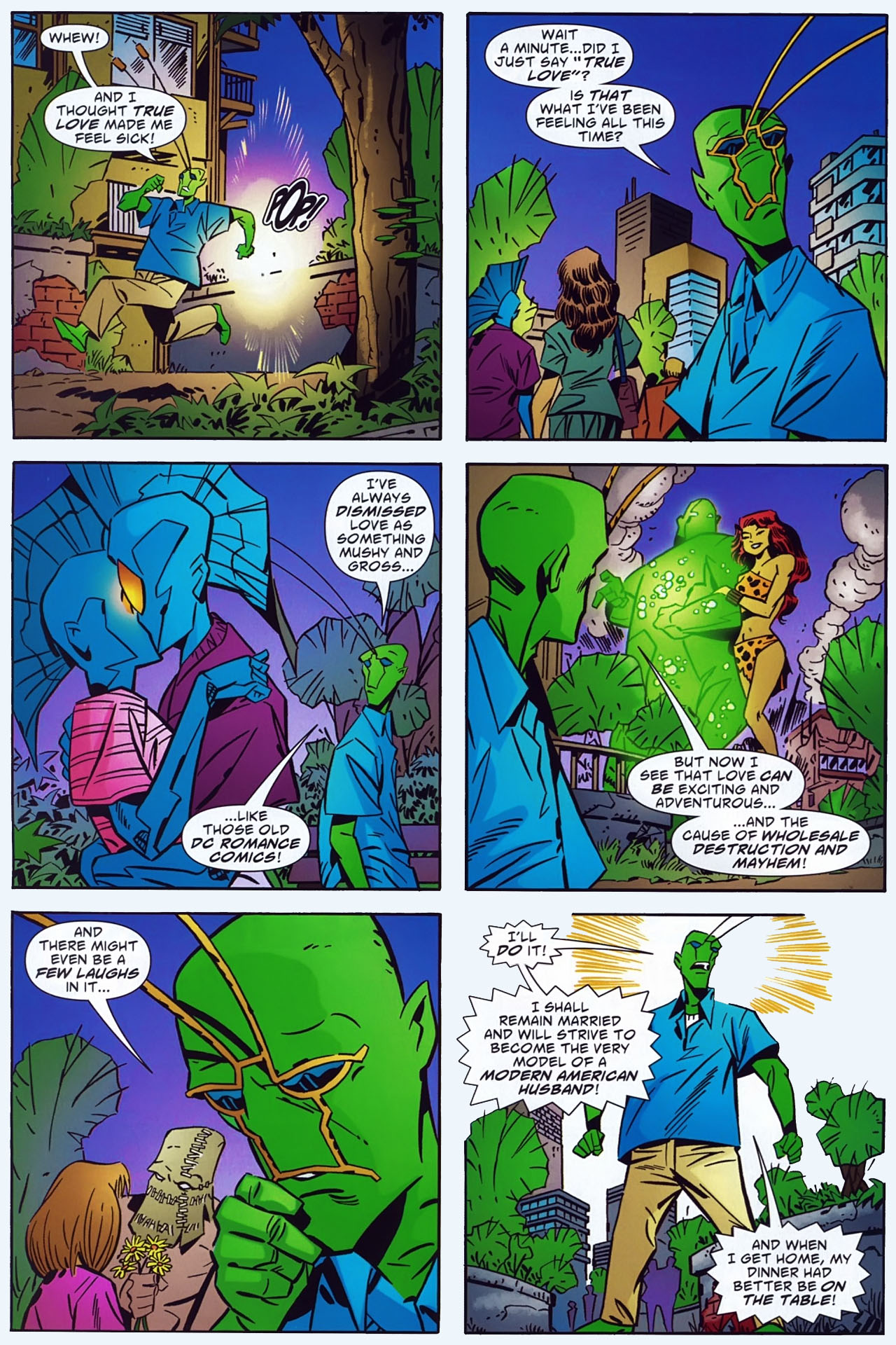 Read online Ambush Bug: Year None comic -  Issue #3 - 22