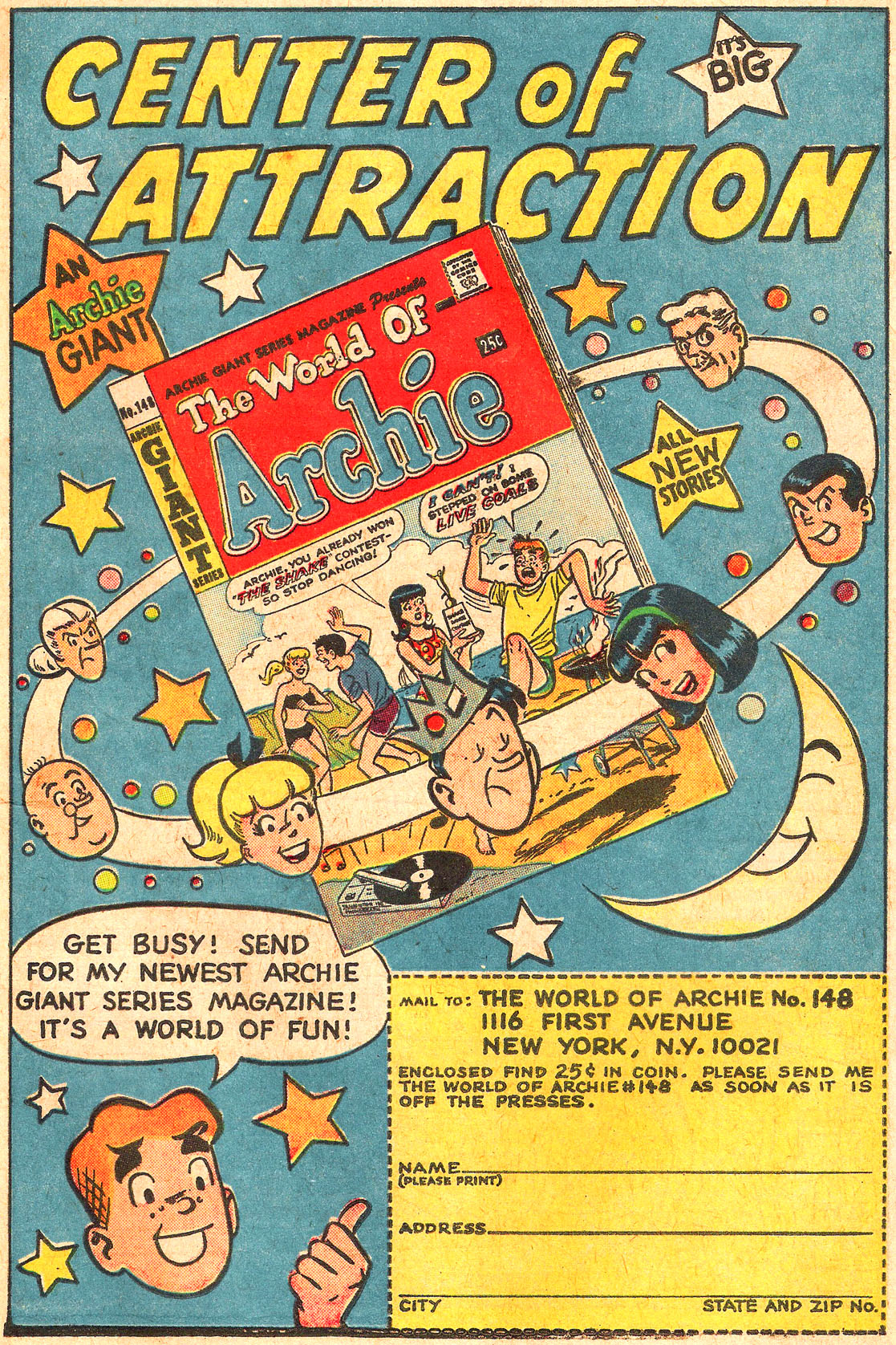 Read online Archie (1960) comic -  Issue #176 - 19