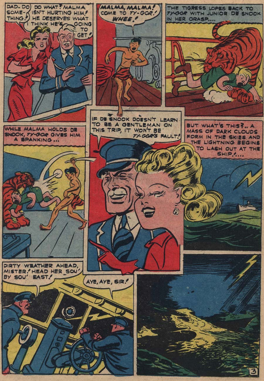 Blue Ribbon Comics (1939) issue 18 - Page 39