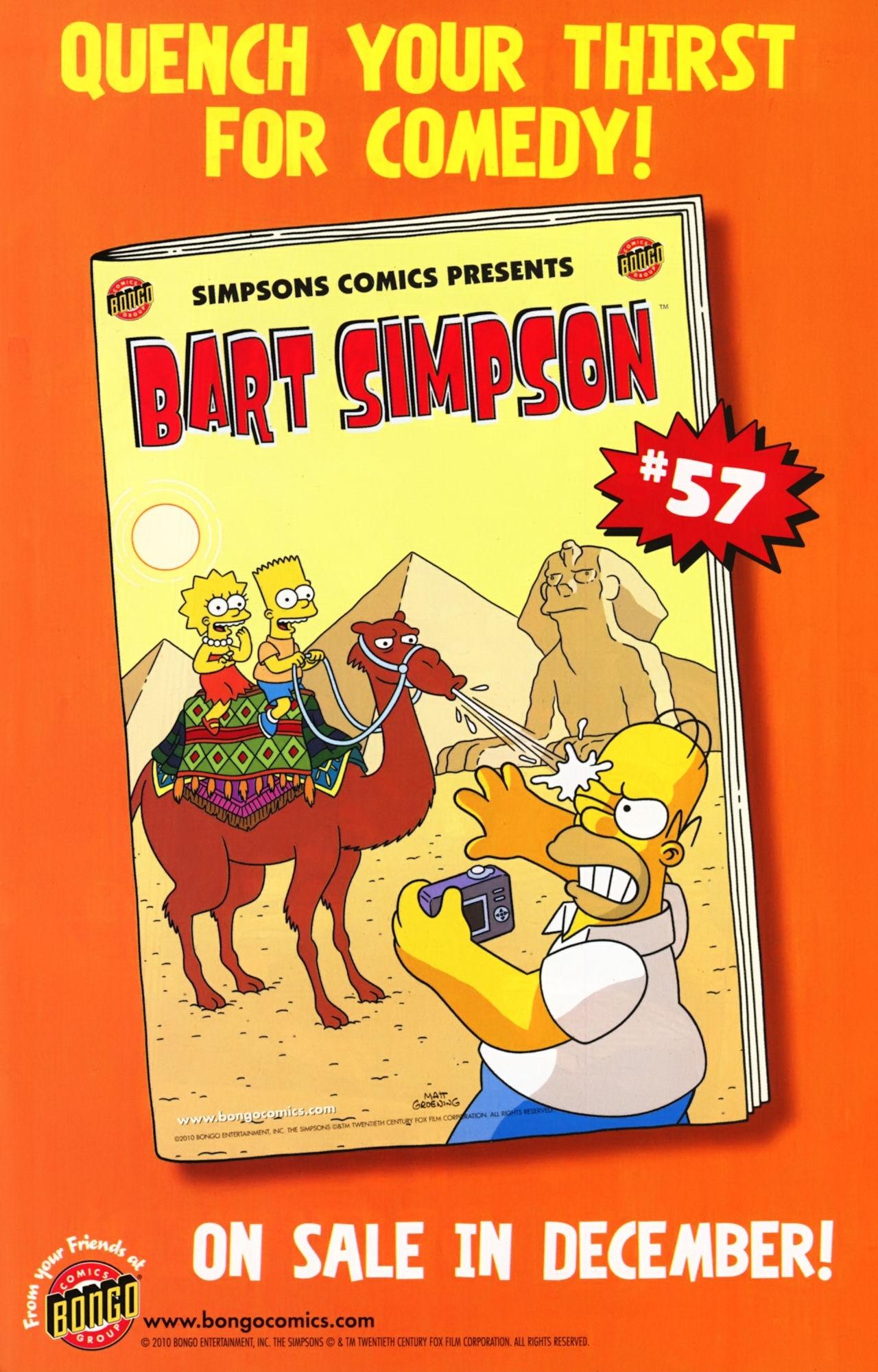 Read online Simpsons Comics comic -  Issue #172 - 23