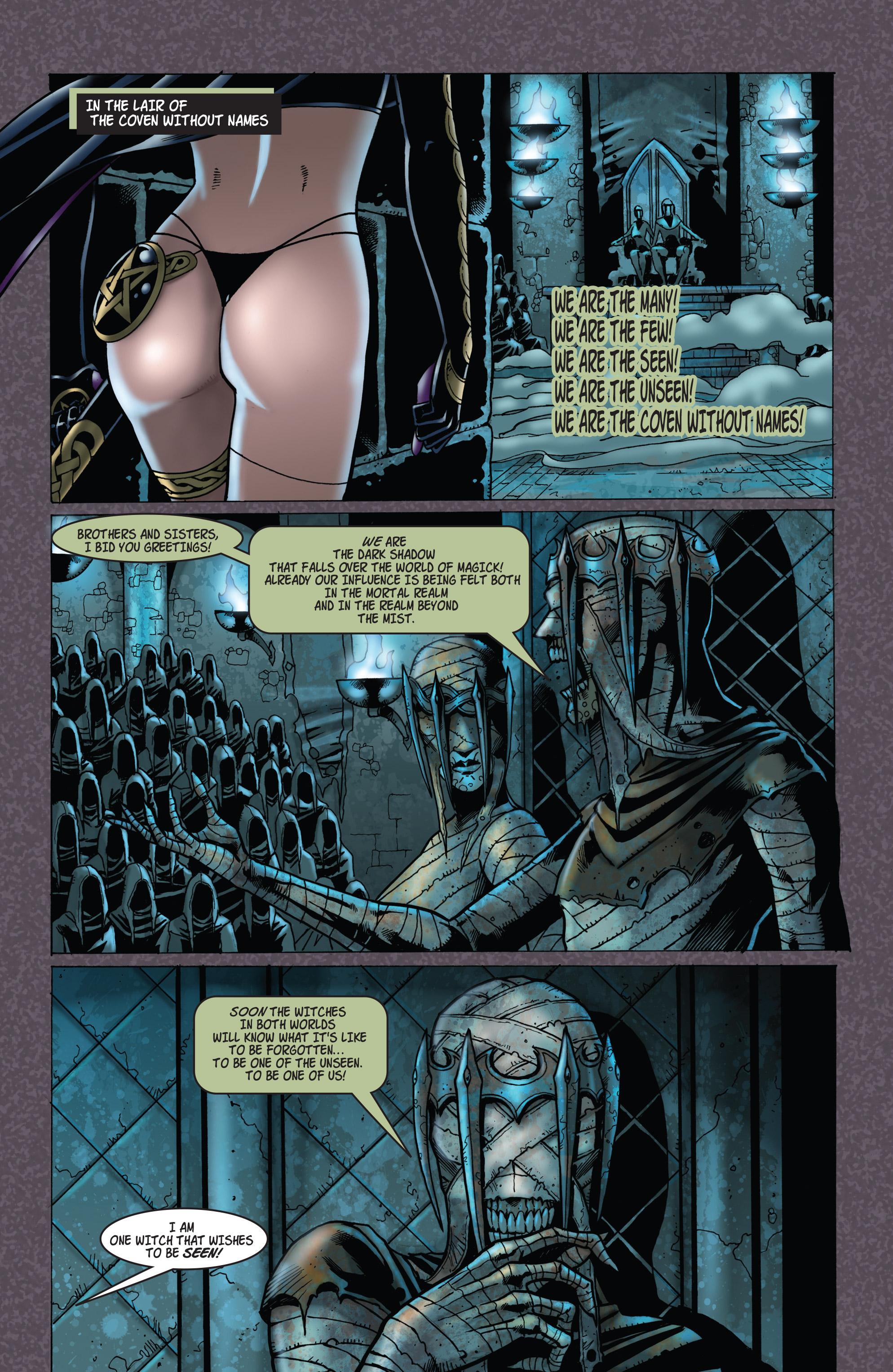 Read online Tarot: Witch of the Black Rose comic -  Issue #103 - 14