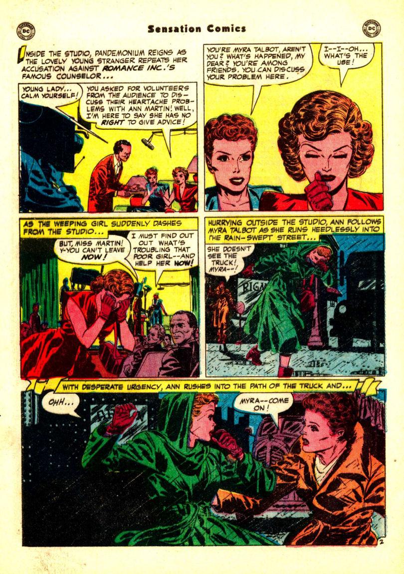 Read online Sensation (Mystery) Comics comic -  Issue #99 - 40