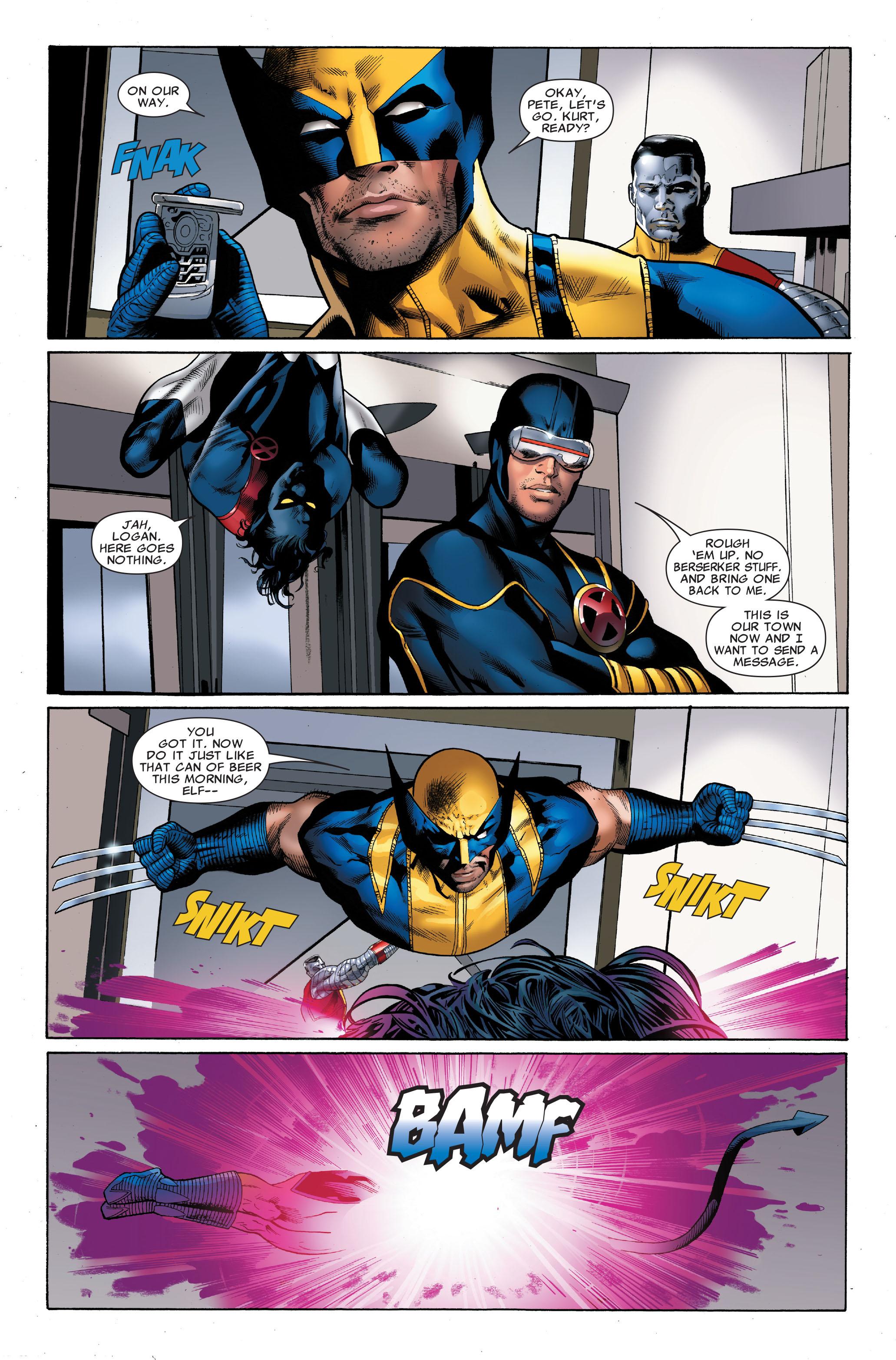 Read online Uncanny X-Men (1963) comic -  Issue #501 - 21
