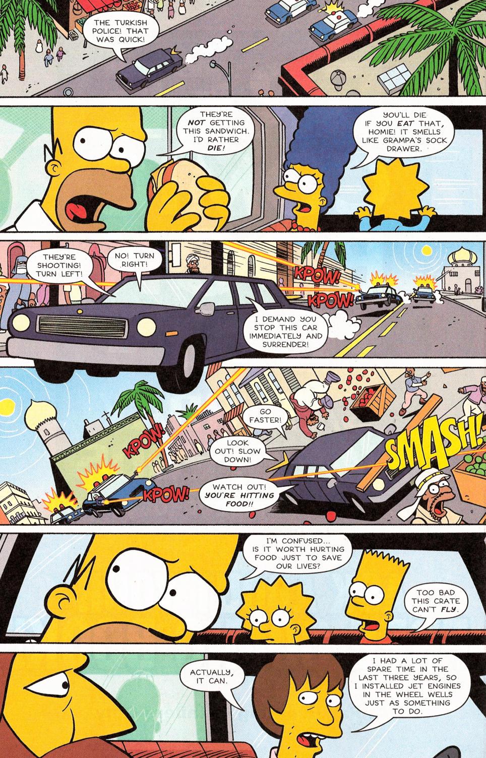 Read online Simpsons Comics comic -  Issue #117 - 10