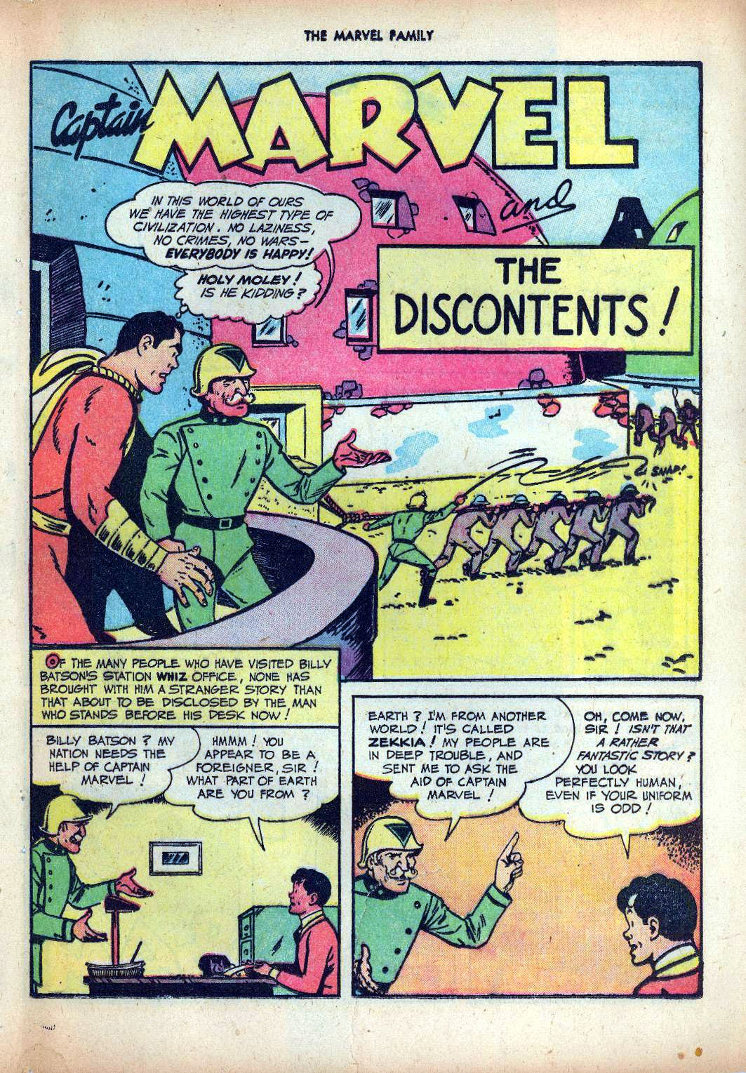 The Marvel Family issue 25 - Page 41