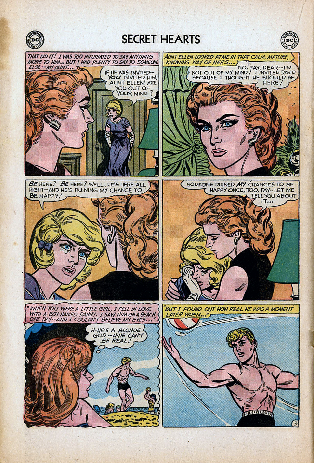 Read online Secret Hearts comic -  Issue #80 - 20