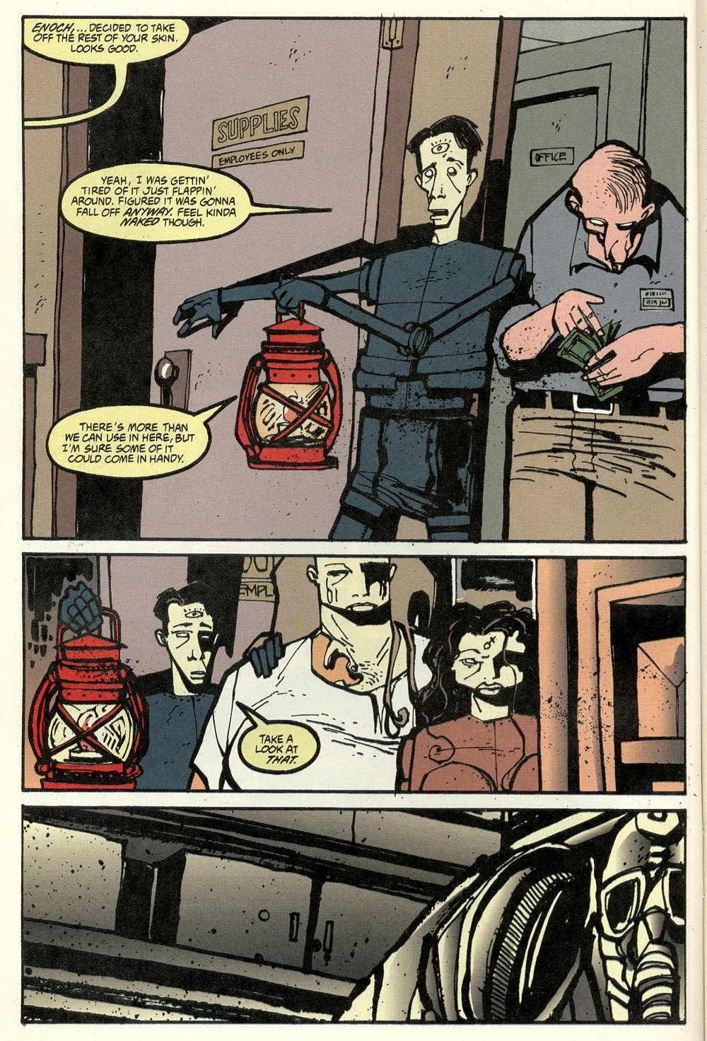 Read online Ted McKeever's Metropol comic -  Issue #11 - 10