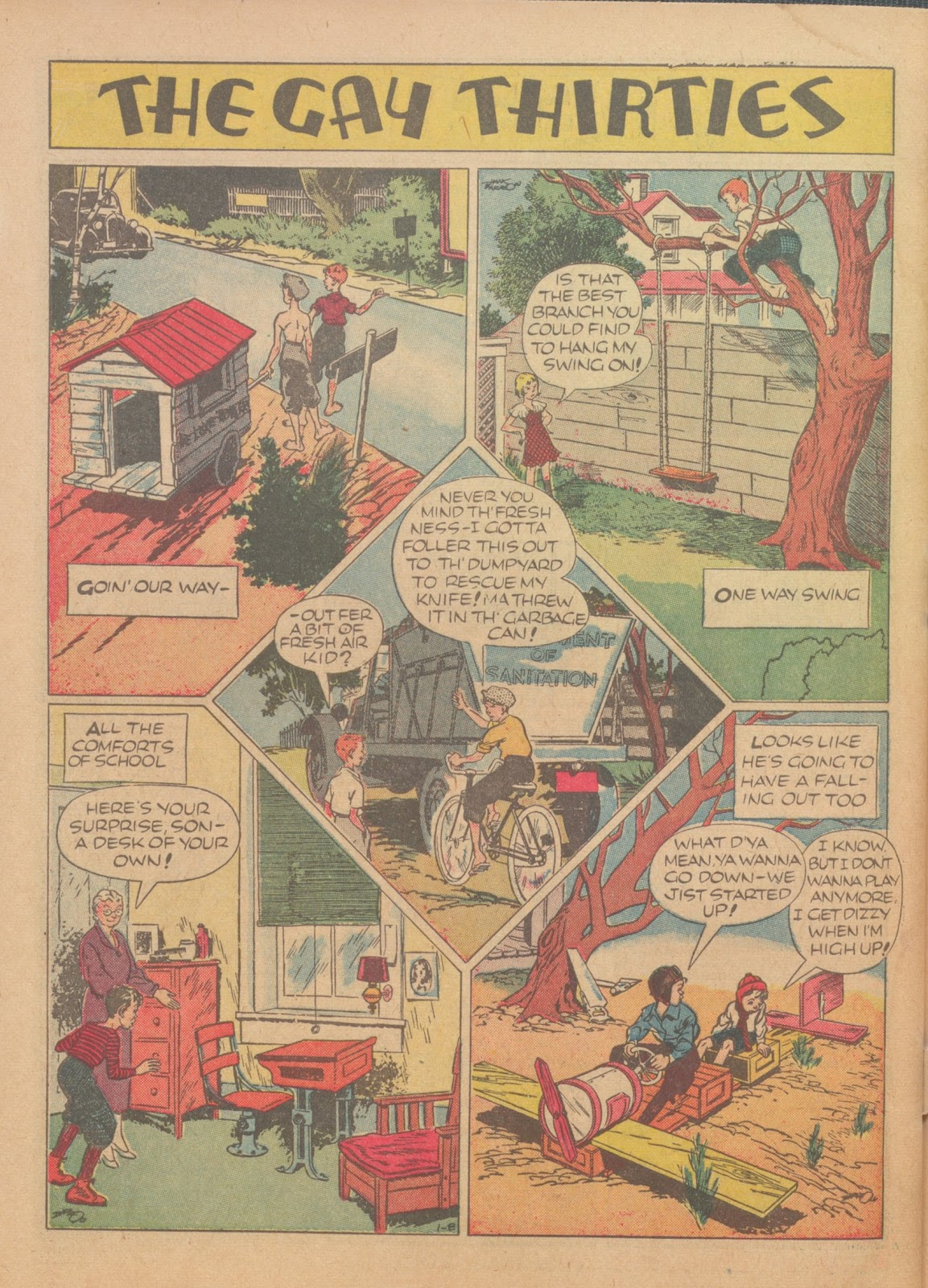Read online Famous Funnies comic -  Issue #62 - 65