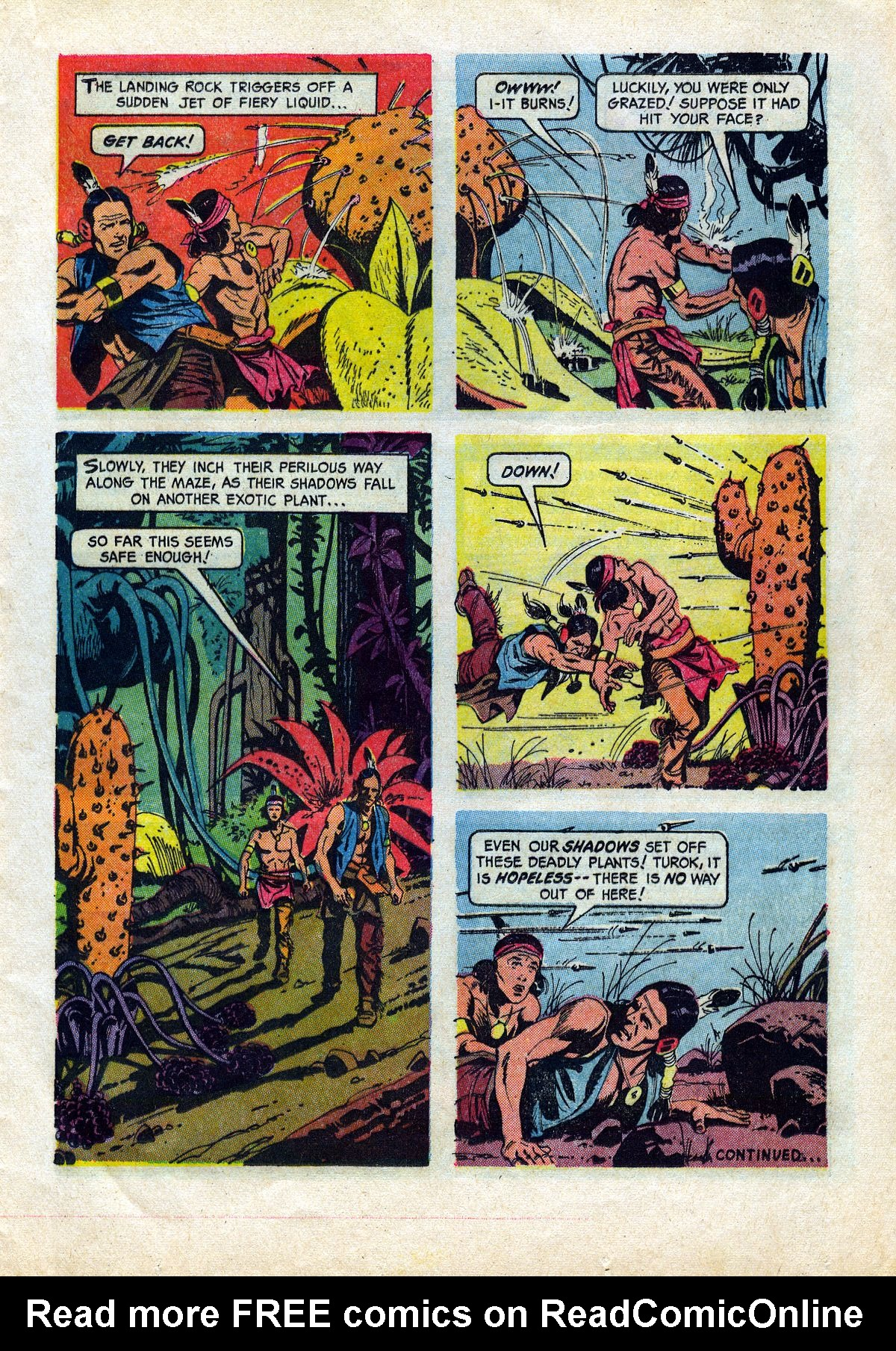 Read online Turok, Son of Stone comic -  Issue #45 - 17