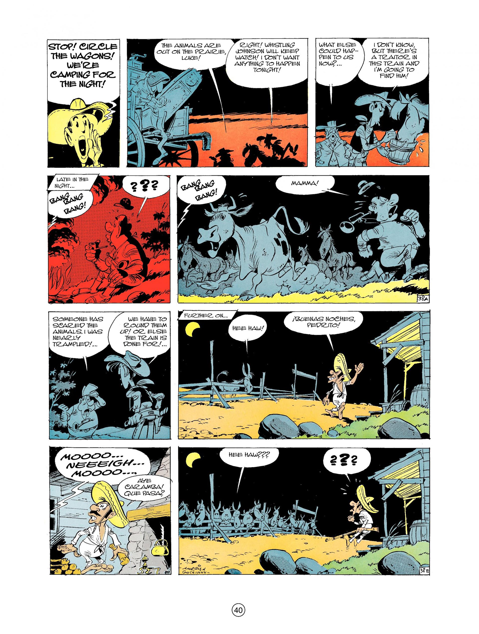 Read online A Lucky Luke Adventure comic -  Issue #9 - 40