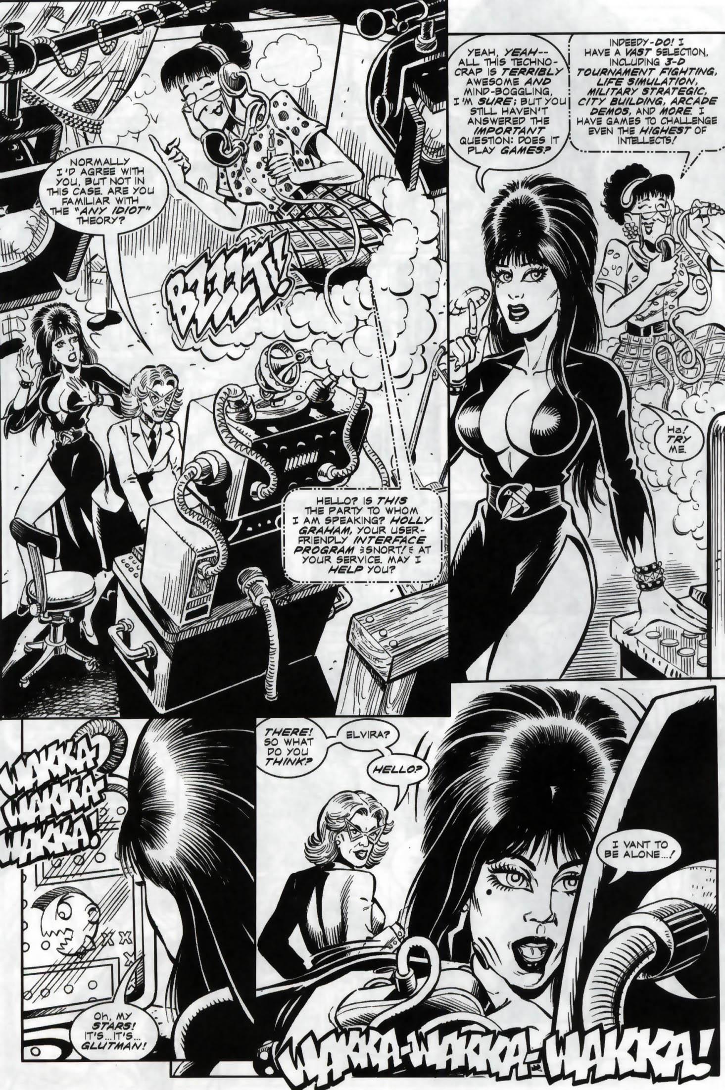 Read online Elvira, Mistress of the Dark comic -  Issue #119 - 6
