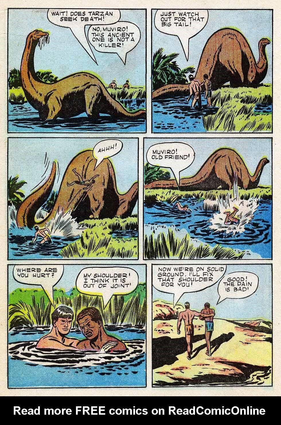 Tarzan (1948) issue 7 - Page 16