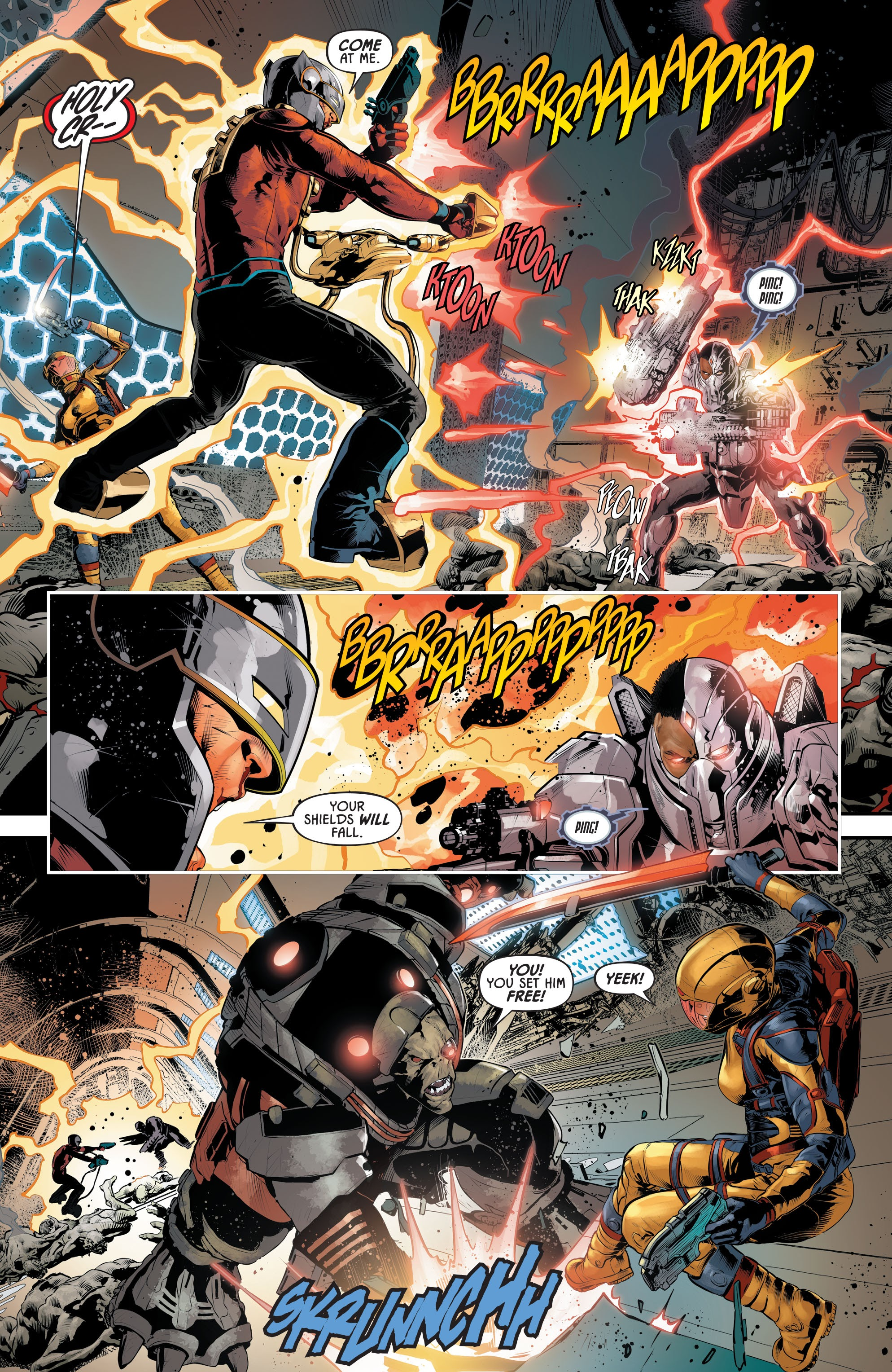 Justice League Odyssey #17 #17 - English 18