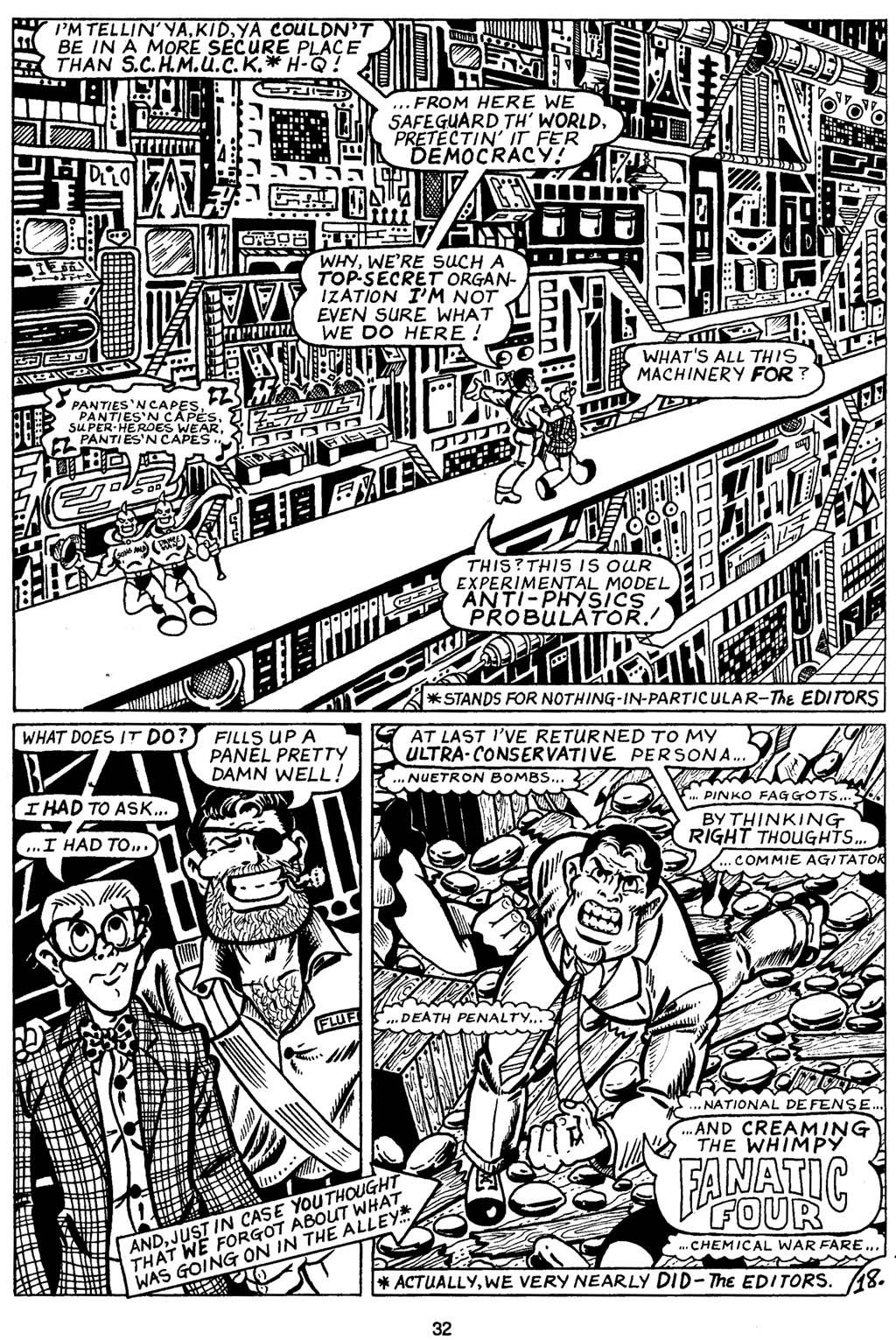 Read online Normalman - The Novel comic -  Issue # TPB (Part 1) - 37