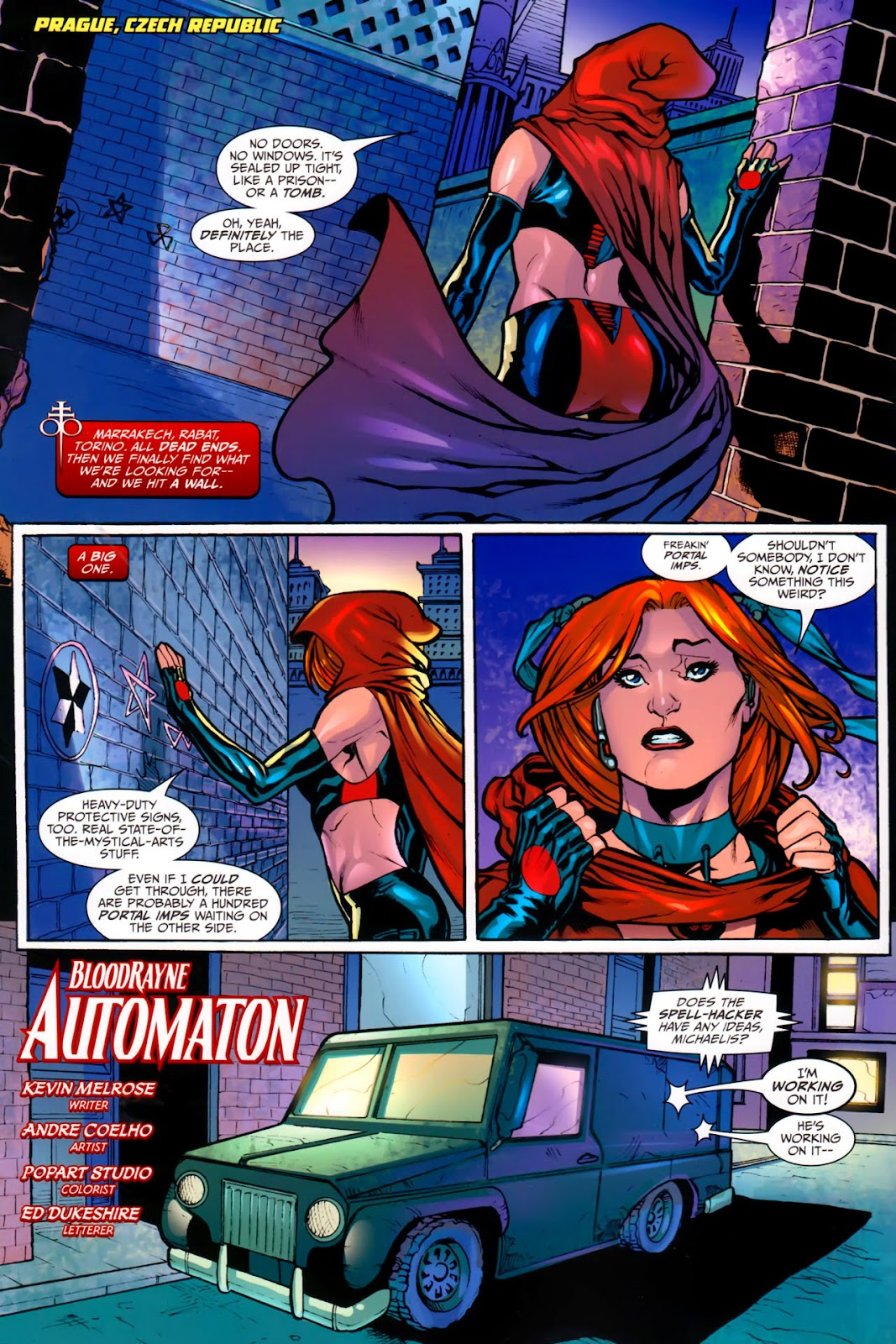 BloodRayne: Automaton issue Full - Page 5