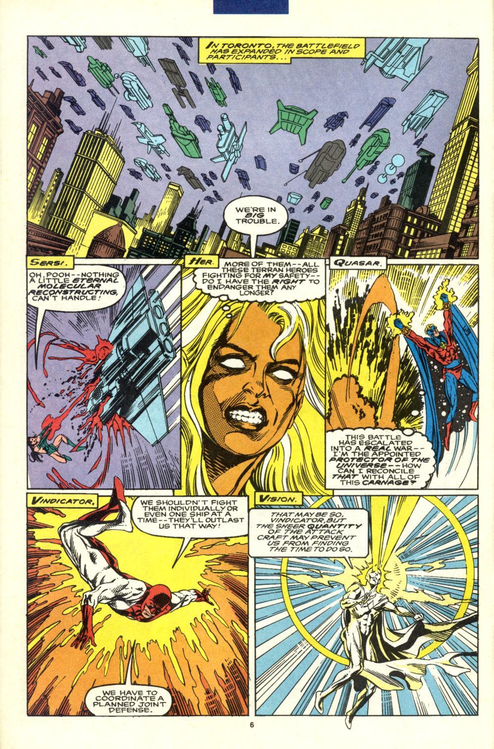 Read online Alpha Flight (1983) comic -  Issue #99 - 6