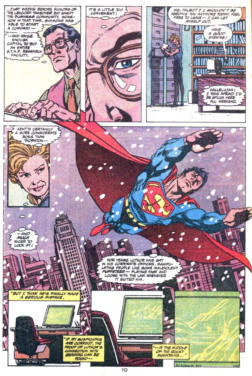 Read online Action Comics (1938) comic -  Issue #649 - 11