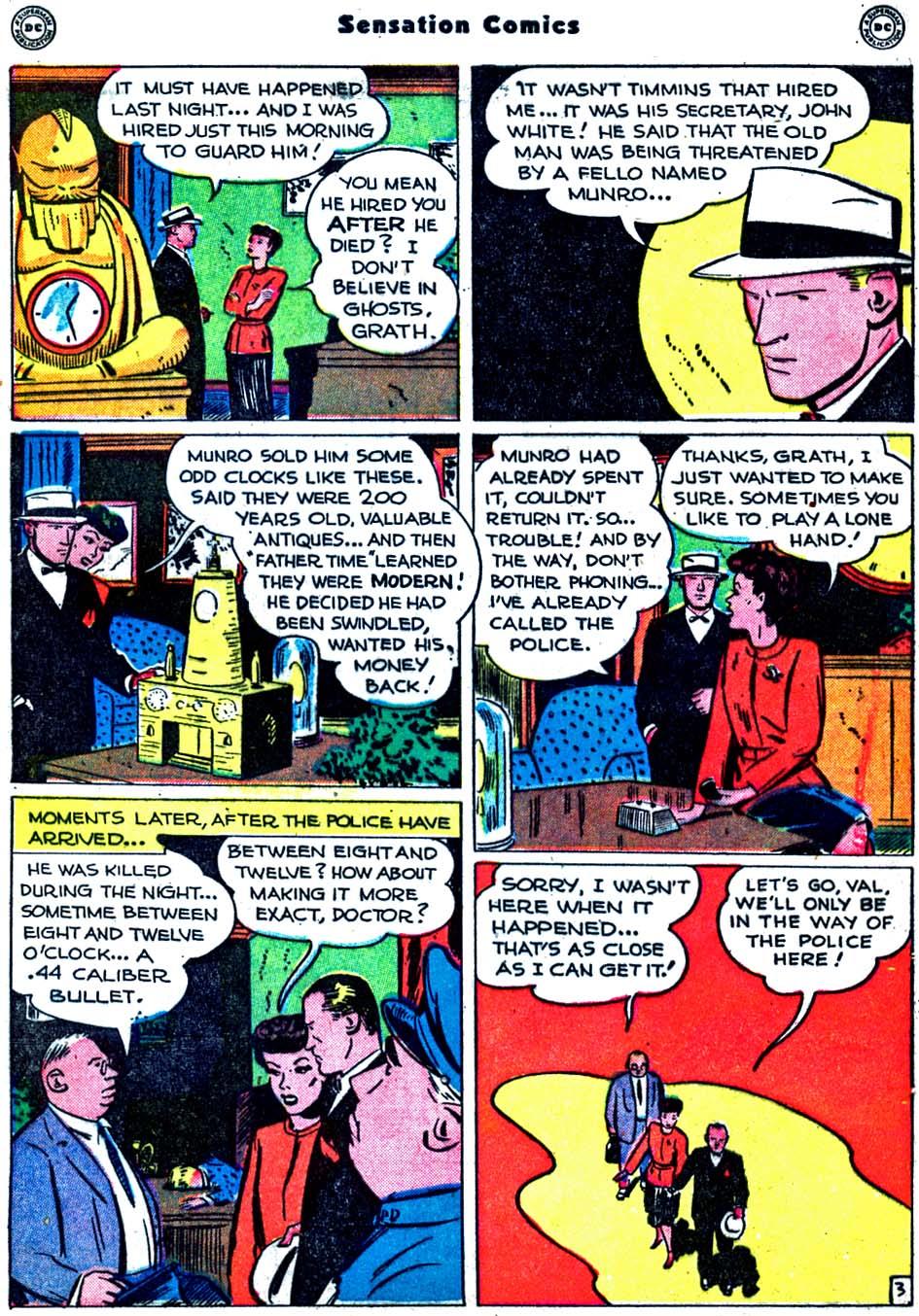 Read online Sensation (Mystery) Comics comic -  Issue #91 - 41
