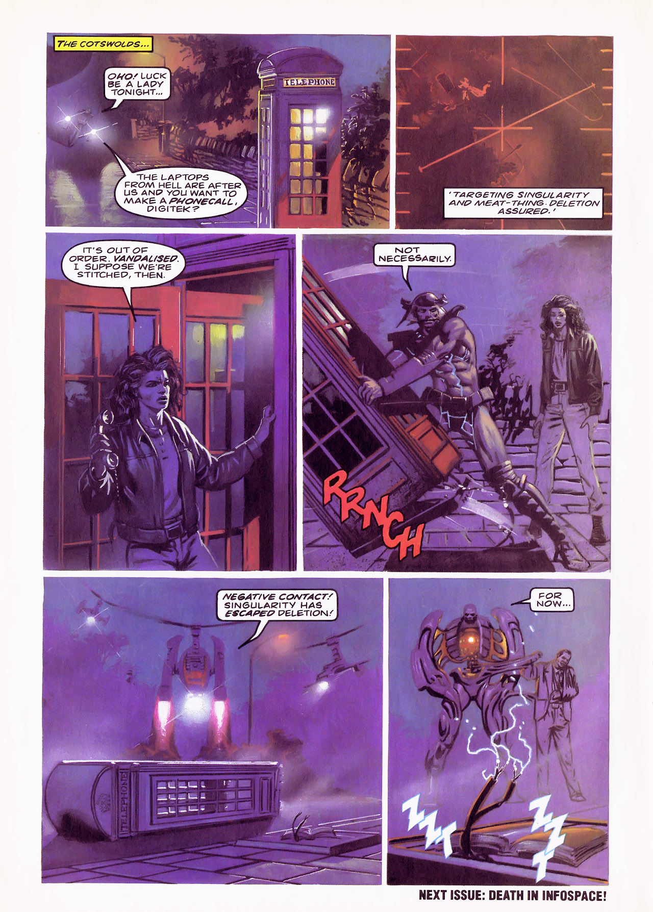 Read online Overkill comic -  Issue #17 - 23