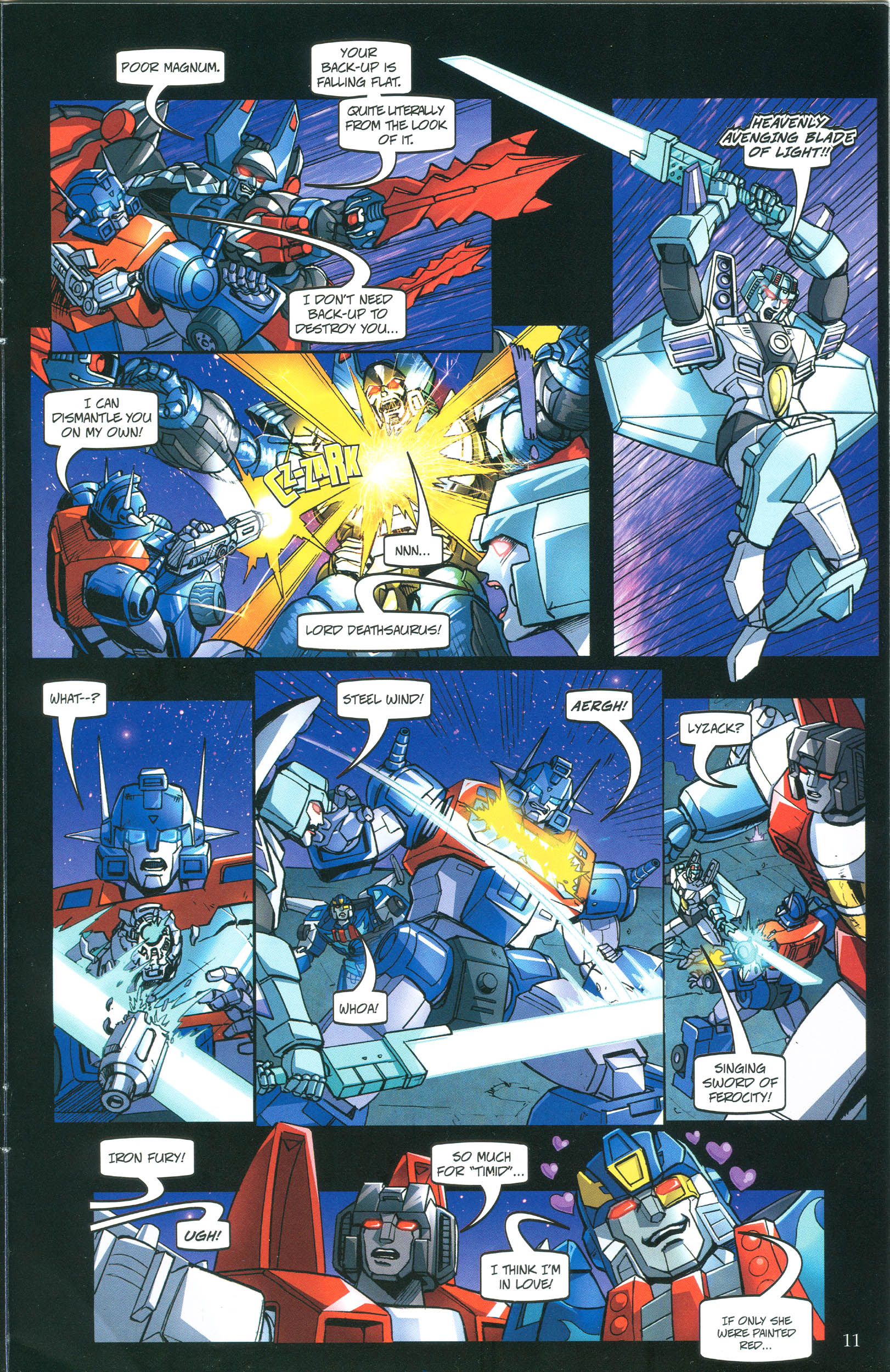 Read online Transformers: Collectors' Club comic -  Issue #40 - 11