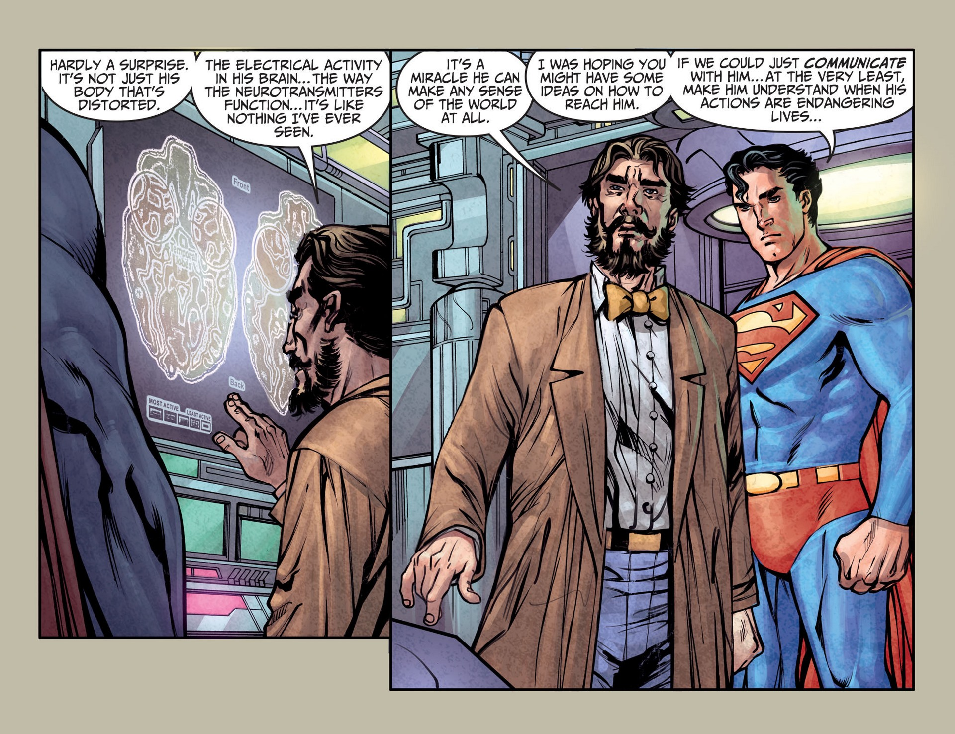 Read online Adventures of Superman [I] comic -  Issue #25 - 11
