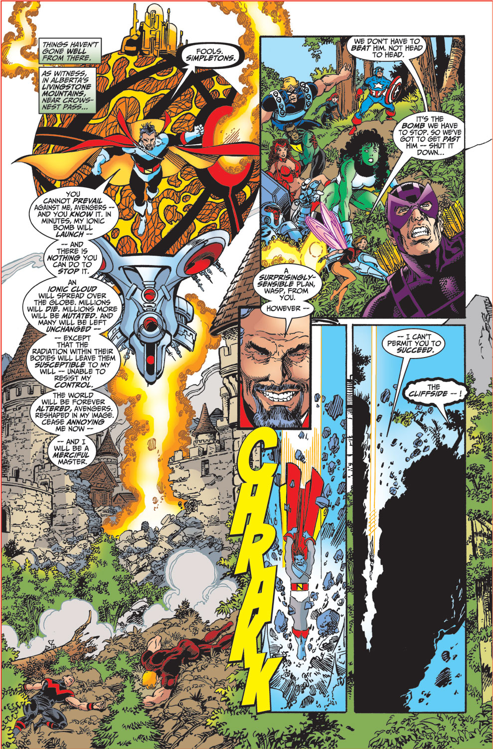 Read online Avengers (1998) comic -  Issue #34 - 4