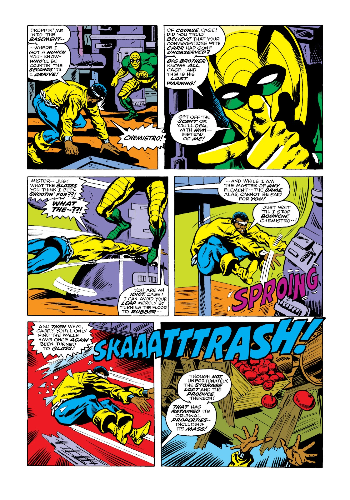 Read online Marvel Masterworks: Luke Cage, Power Man comic -  Issue # TPB 3 (Part 2) - 44