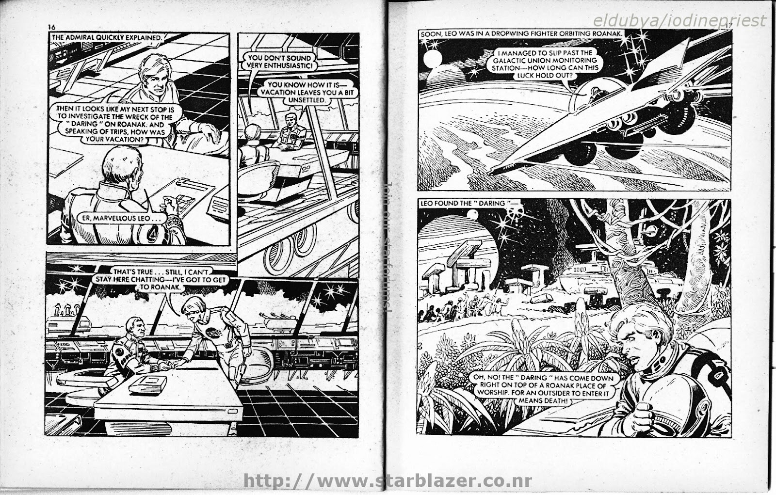 Starblazer issue 73 - Page 10