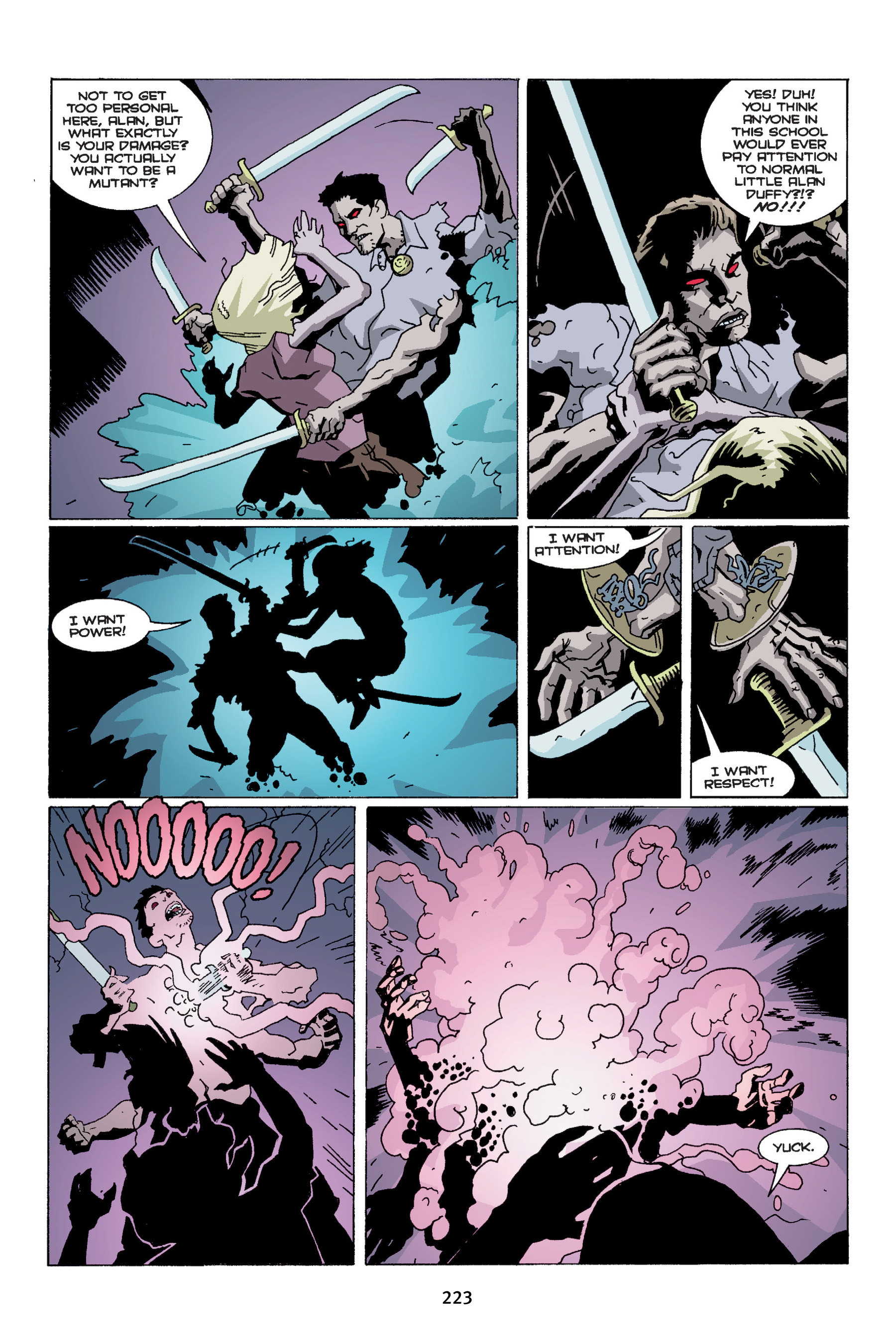 Read online Buffy the Vampire Slayer: Omnibus comic -  Issue # TPB 4 - 221