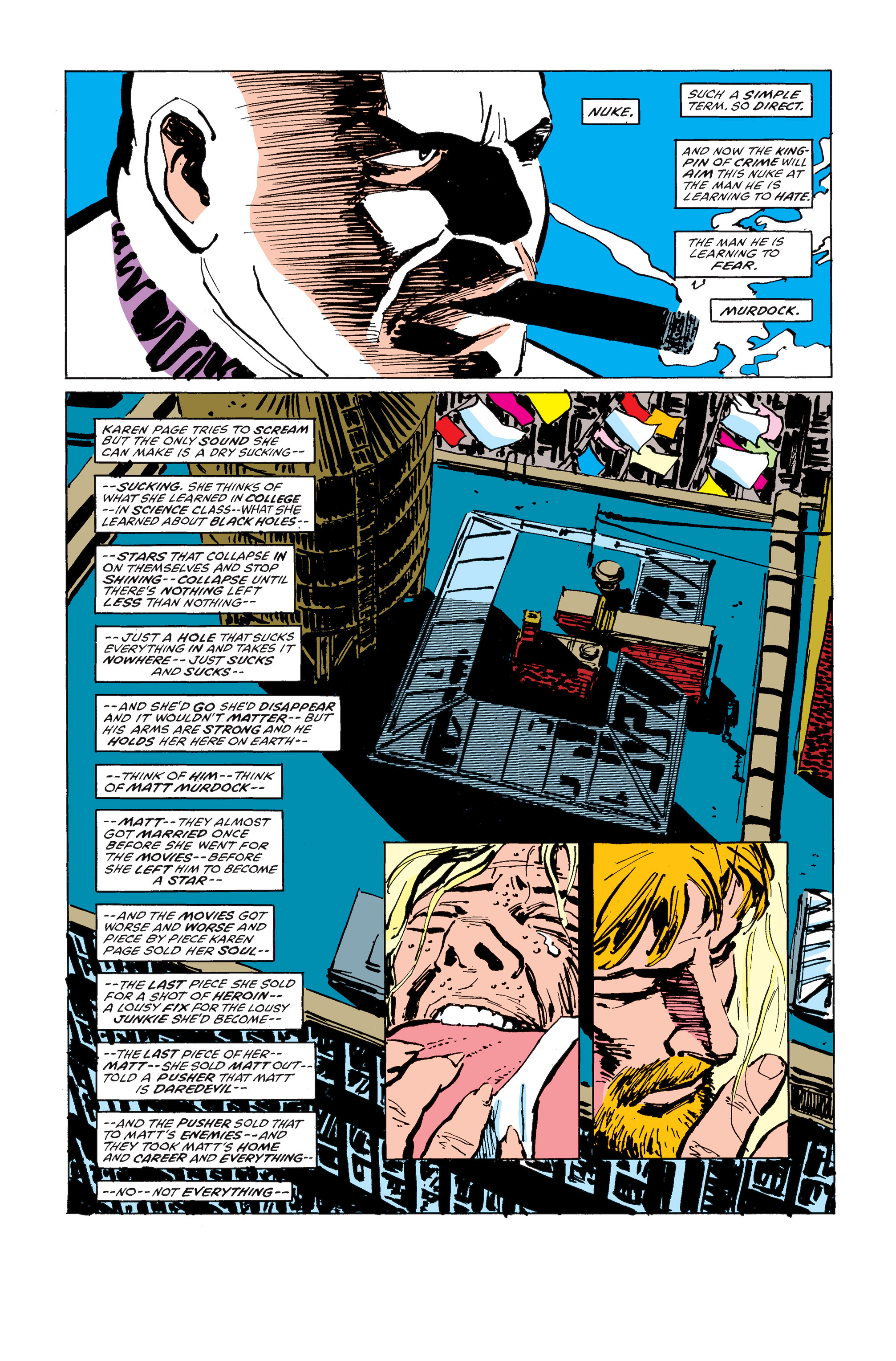 Read online Daredevil: Born Again comic -  Issue # Full - 151