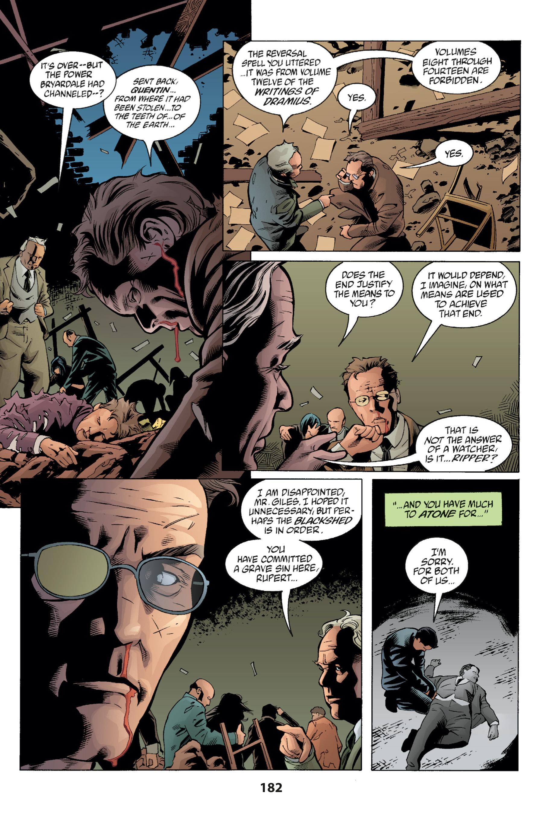 Read online Buffy the Vampire Slayer: Omnibus comic -  Issue # TPB 1 - 180