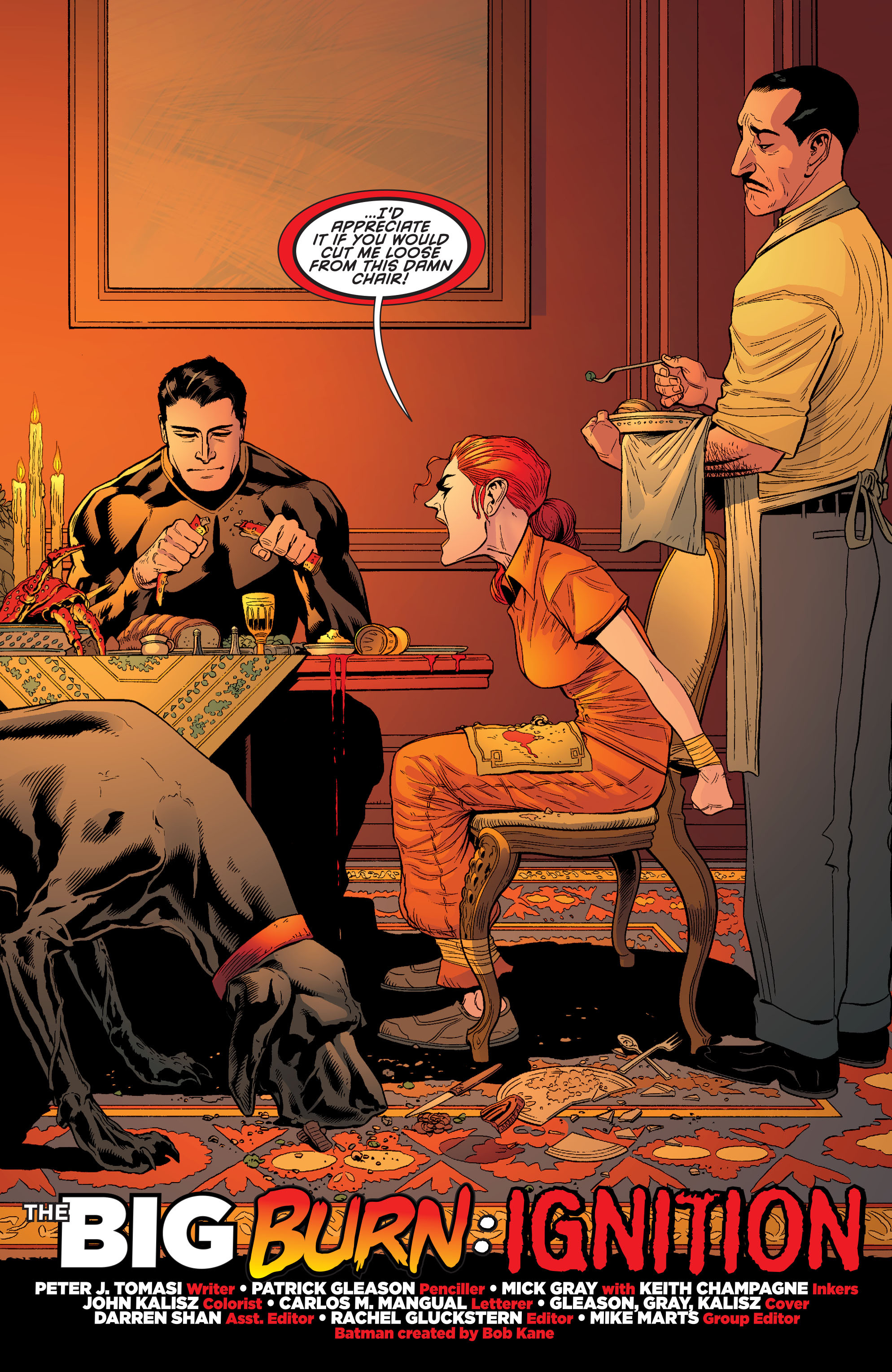Read online Batman and Robin (2011) comic -  Issue #26 - Batman and Two-Face - 3