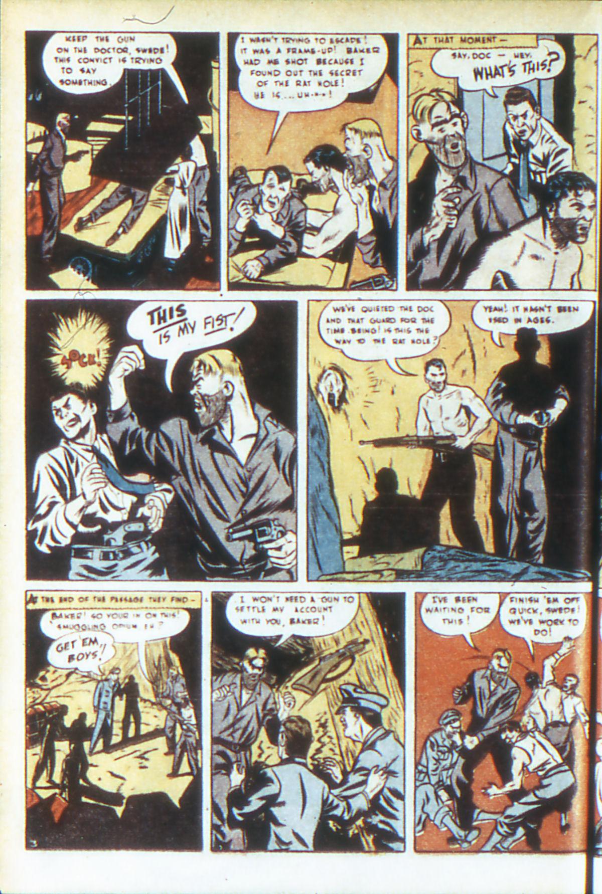 Read online Adventure Comics (1938) comic -  Issue #64 - 21